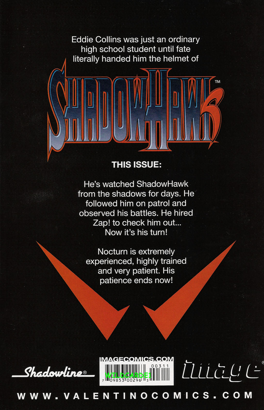 Read online ShadowHawk (2005) comic -  Issue #3 - 30