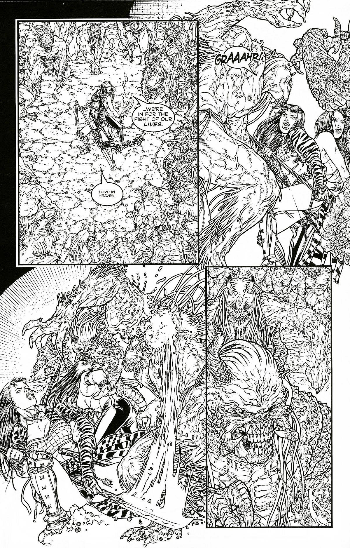 Read online Shi: Pandora's Box comic -  Issue #1 - 16