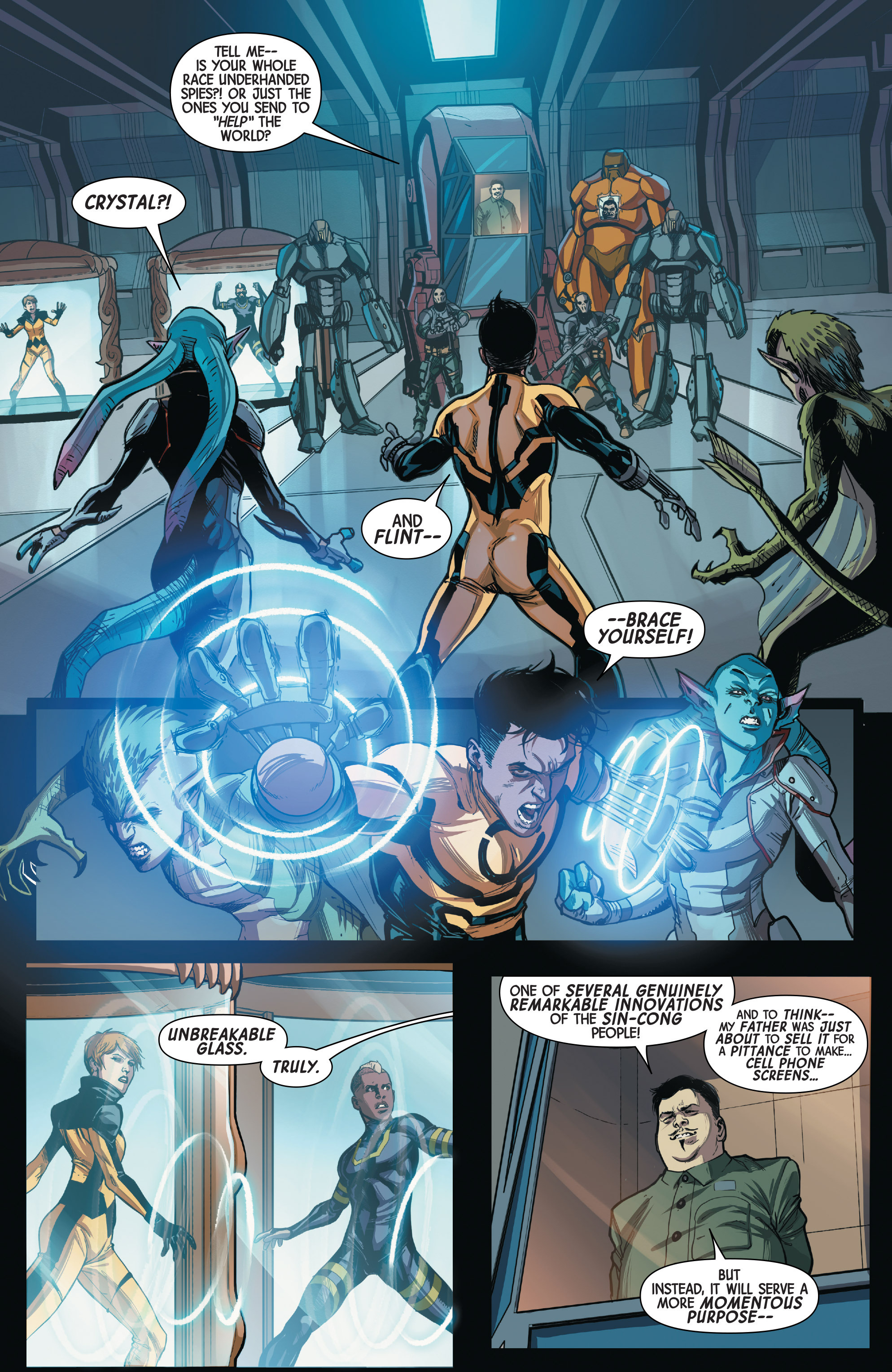 Read online All-New Inhumans comic -  Issue #3 - 18