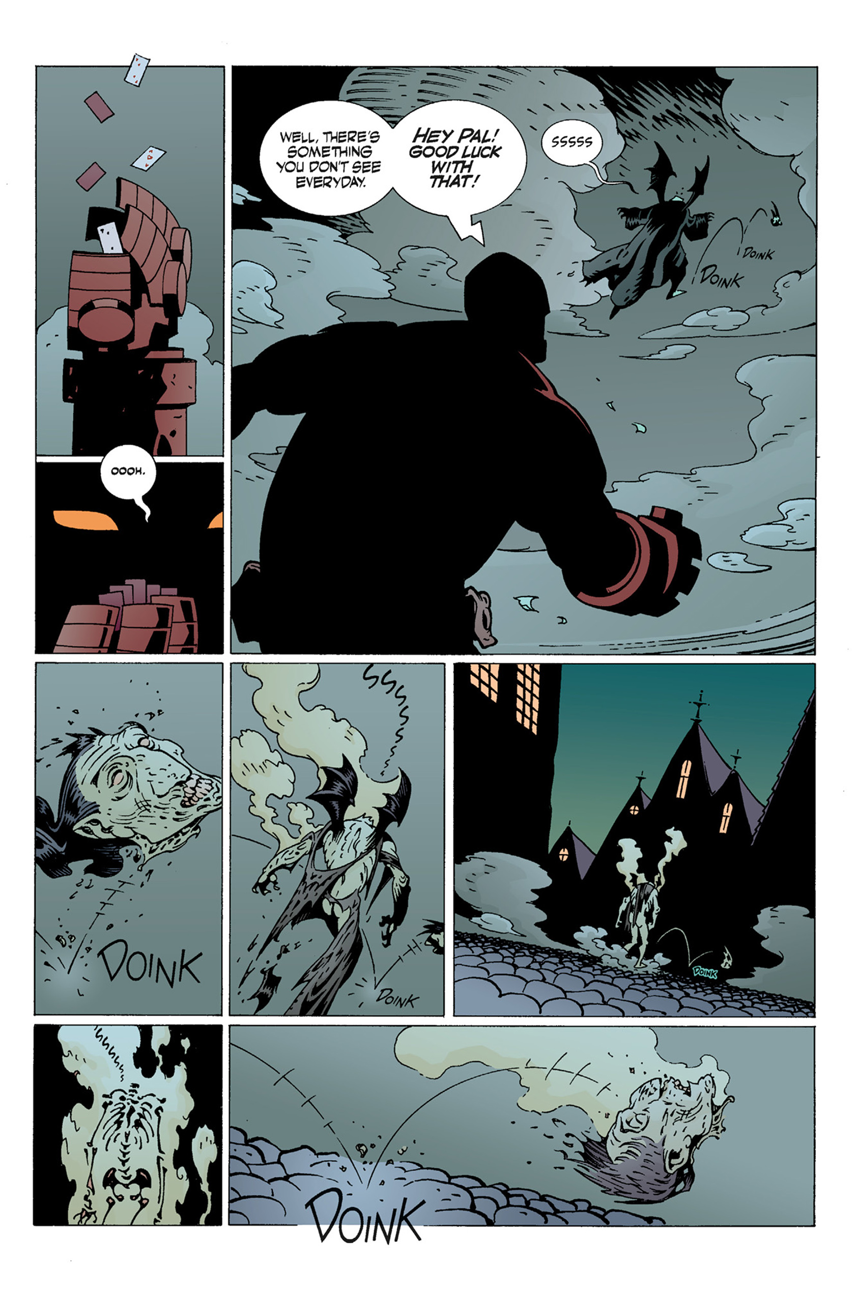 Read online Hellboy: The Troll Witch and Others comic -  Issue # TPB - 51