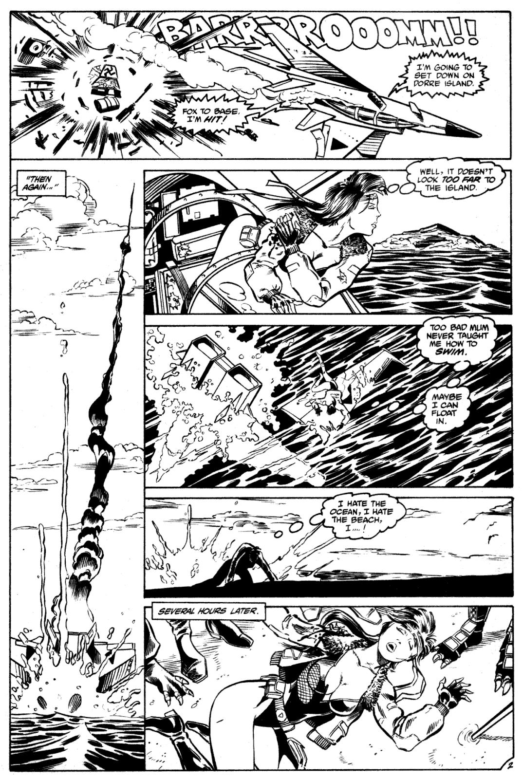 Shattered Earth issue 2 - Page 4