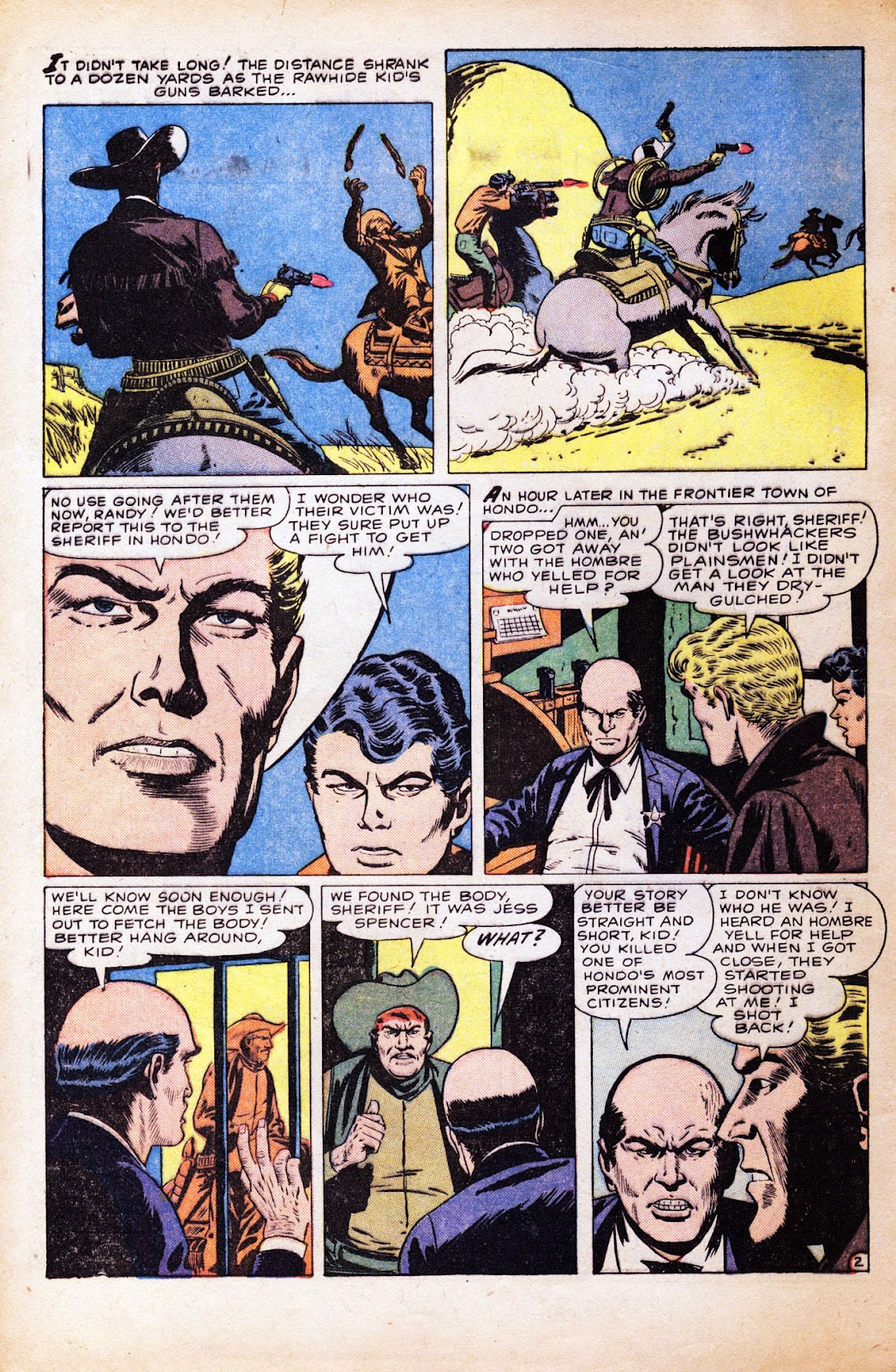 The Rawhide Kid (1955) issue 2 - Page 4