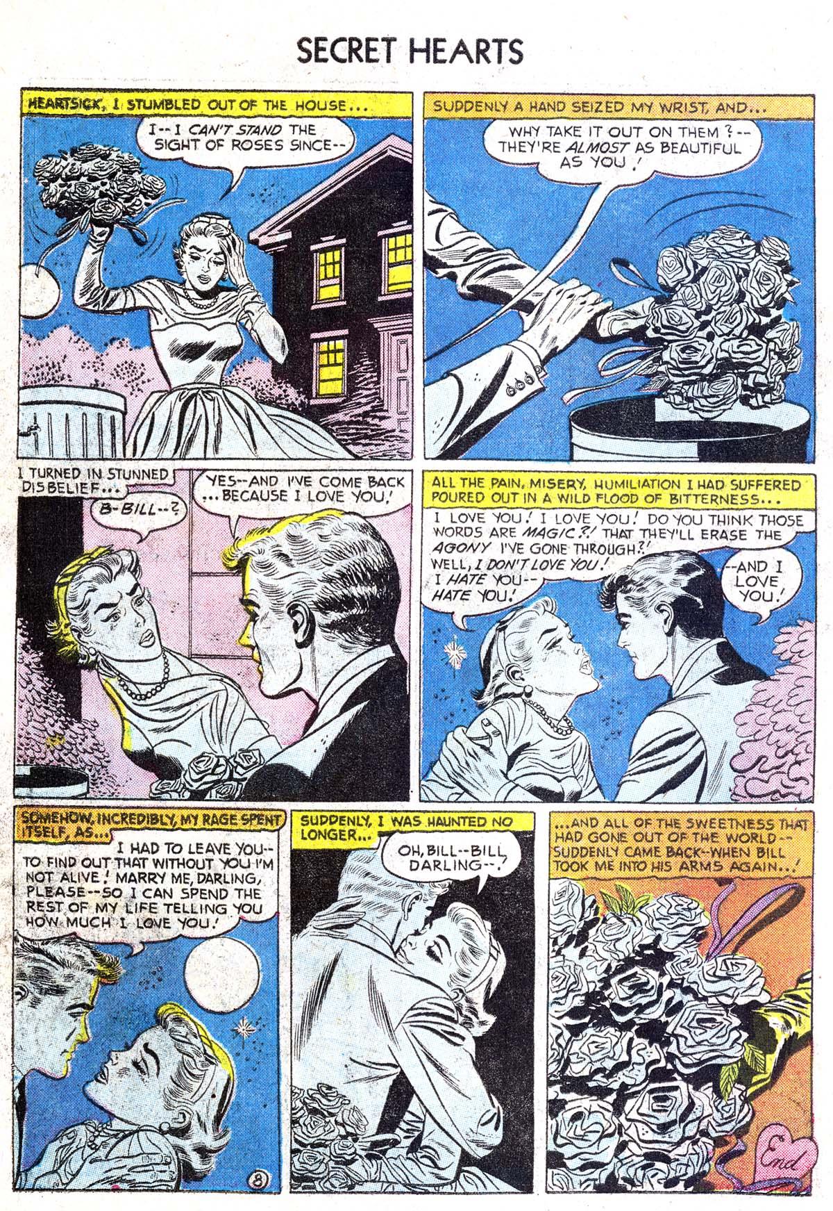 Read online Secret Hearts comic -  Issue #38 - 34
