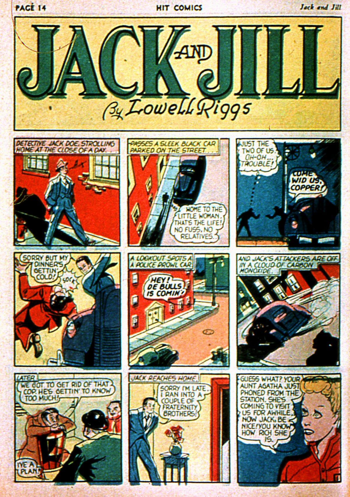 Read online Hit Comics comic -  Issue #3 - 16