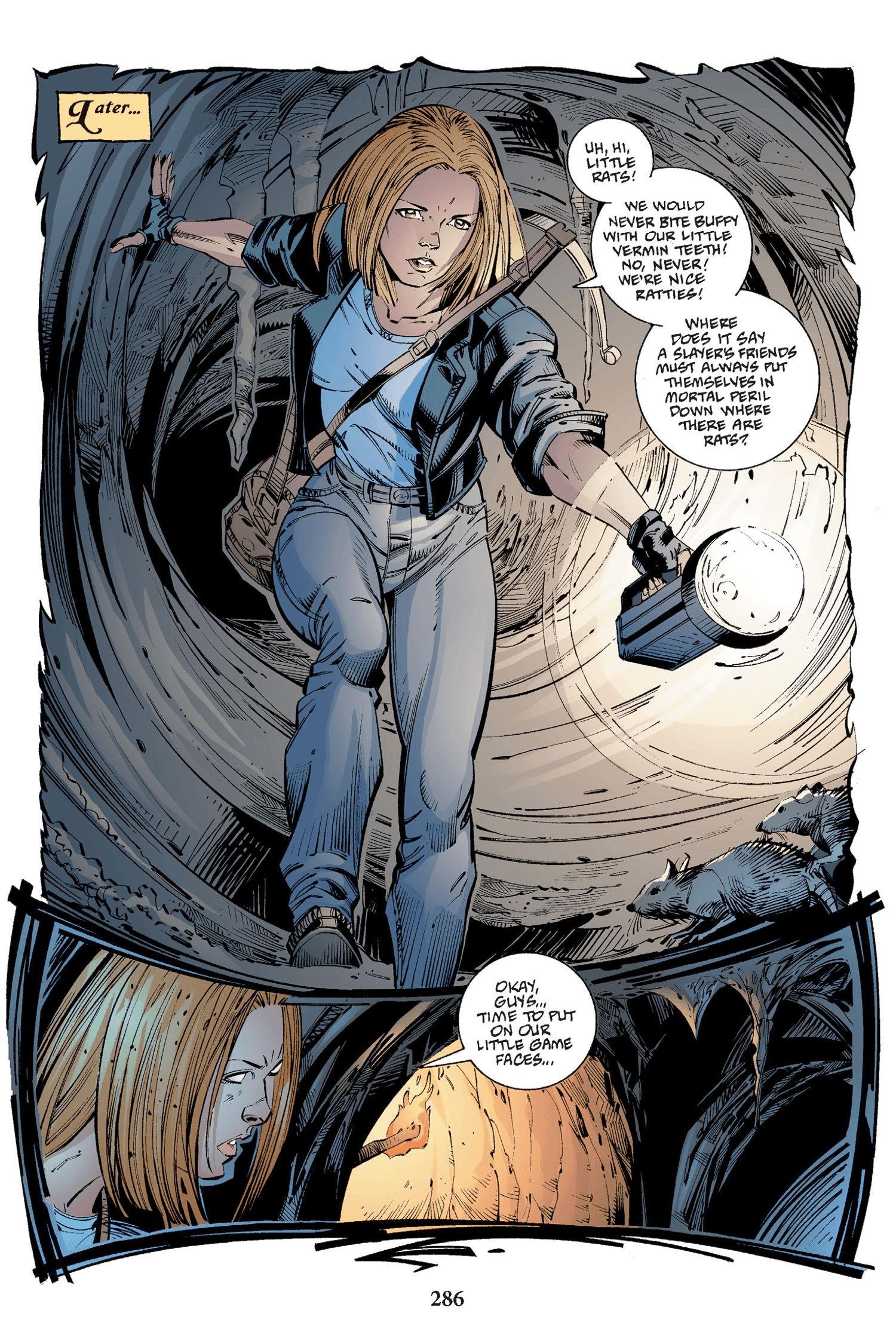 Read online Buffy the Vampire Slayer: Omnibus comic -  Issue # TPB 2 - 278