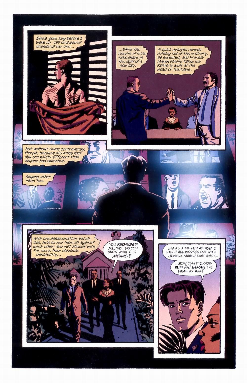 Read online Sleeper comic -  Issue #4 - 21