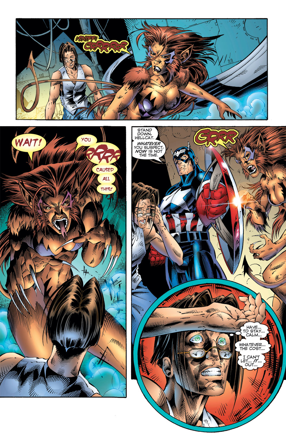 Read online Avengers (1996) comic -  Issue #6 - 20