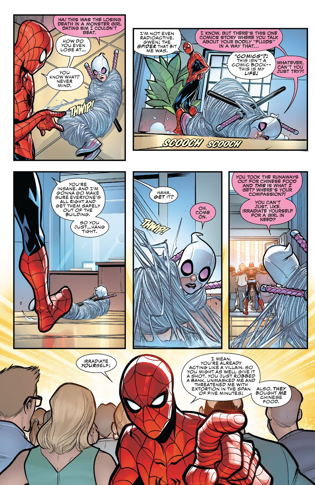 Gwenpool Strikes Back issue _TPB - Page 17