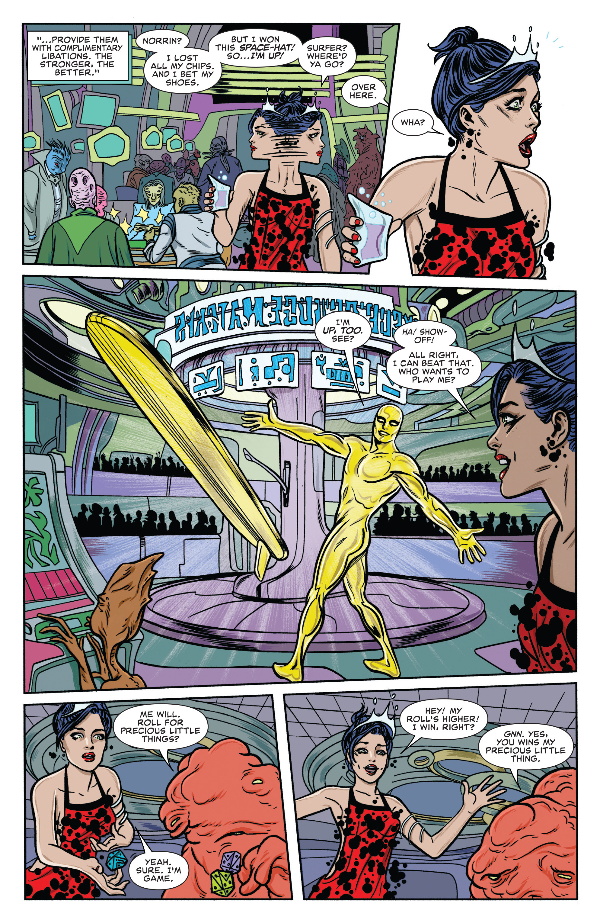 Read online Silver Surfer (2016) comic -  Issue #7 - 12