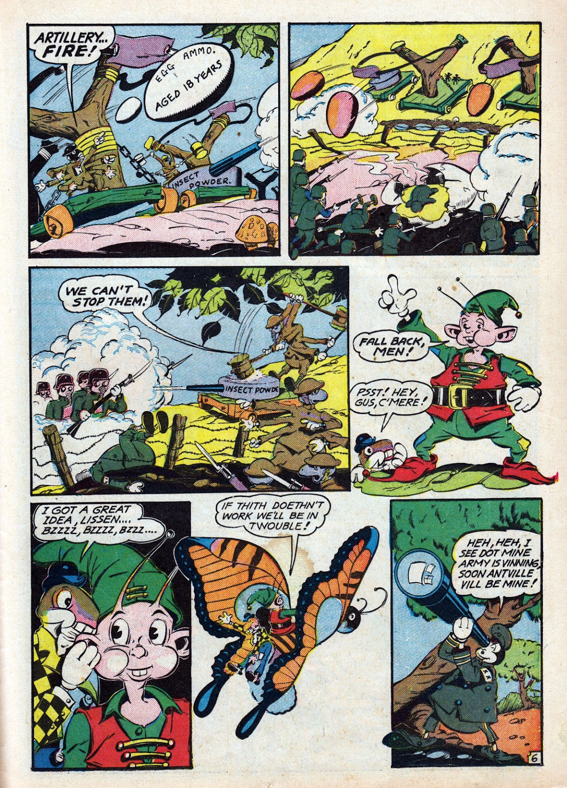 Read online Comedy Comics (1942) comic -  Issue #12 - 45