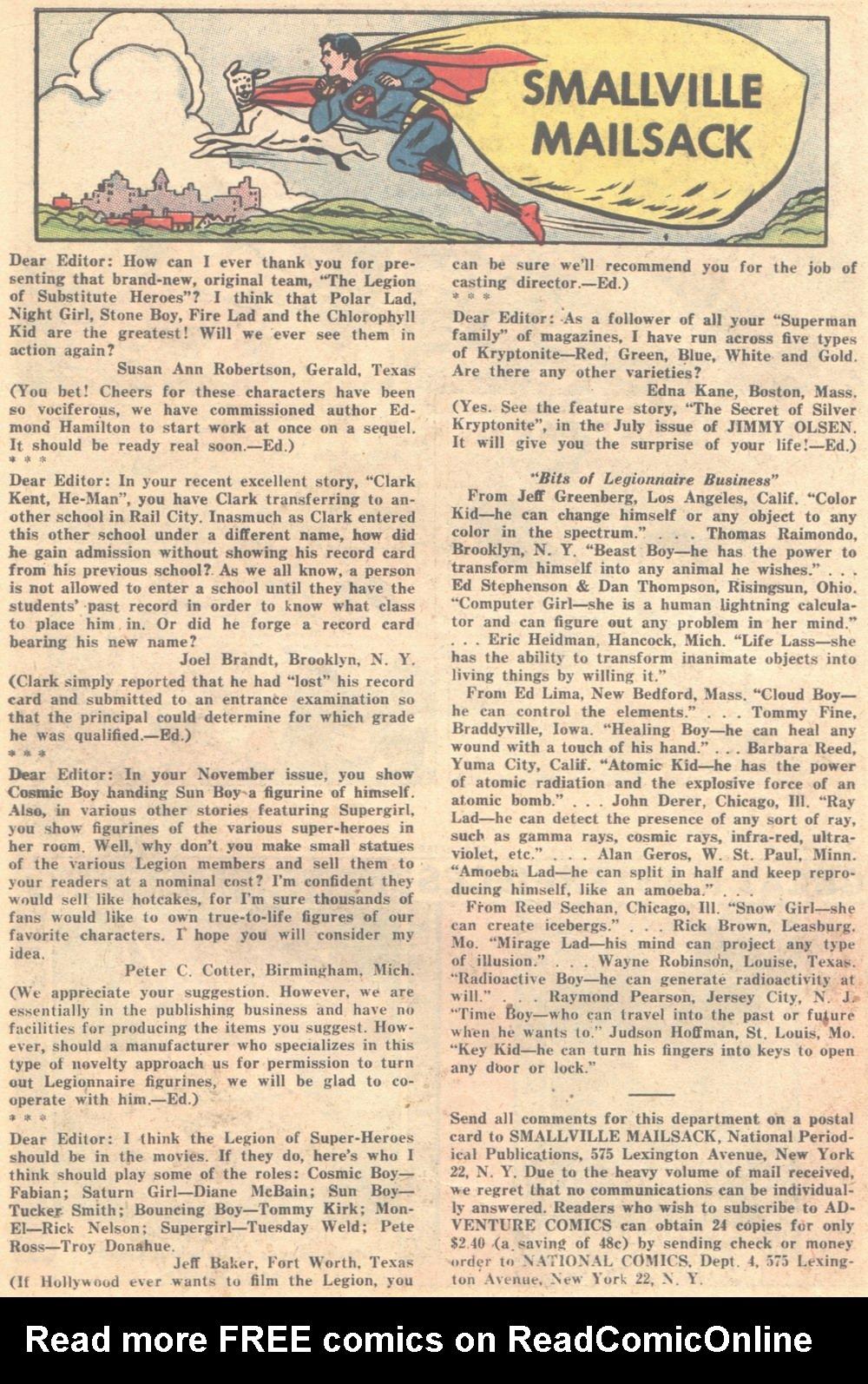 Read online Adventure Comics (1938) comic -  Issue #309 - 21