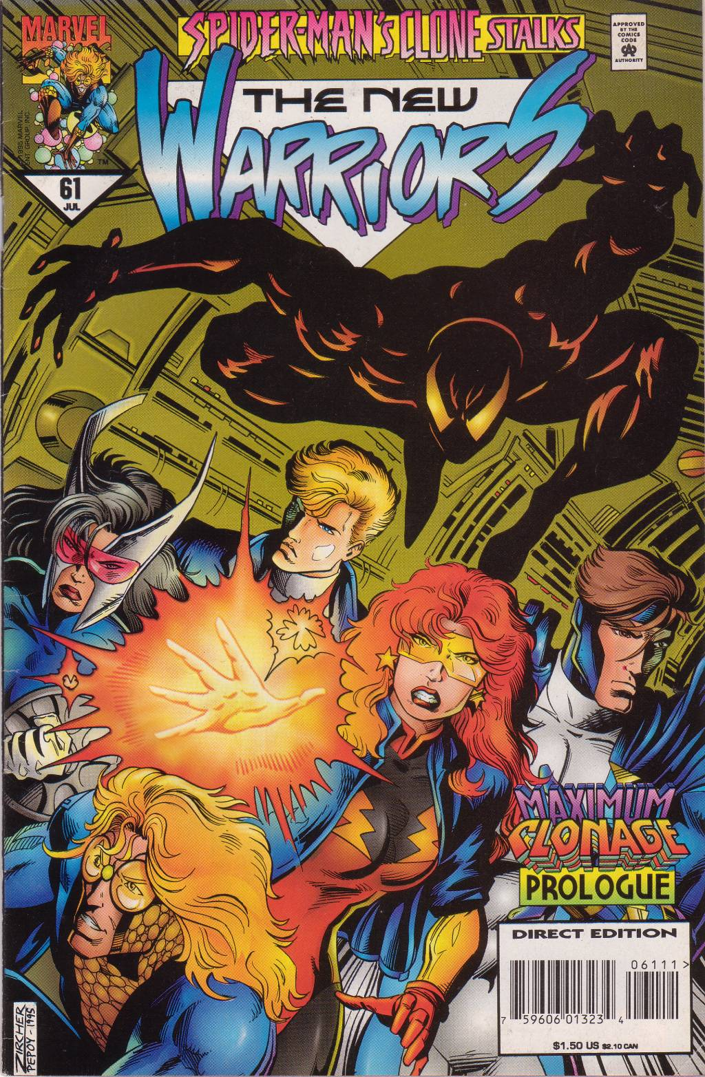 The New Warriors Issue #61 #65 - English 2