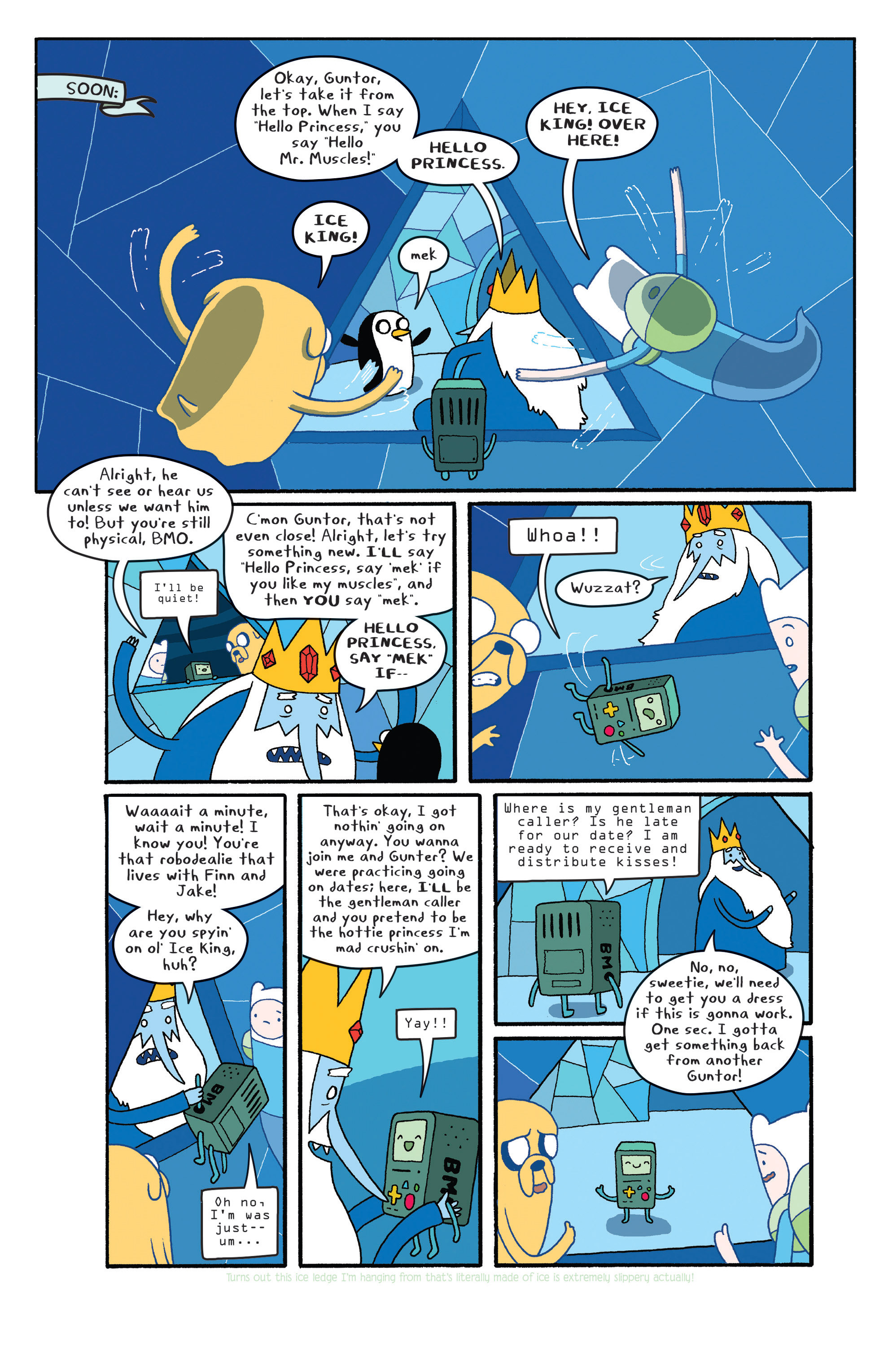 Read online Adventure Time comic -  Issue #27 - 7
