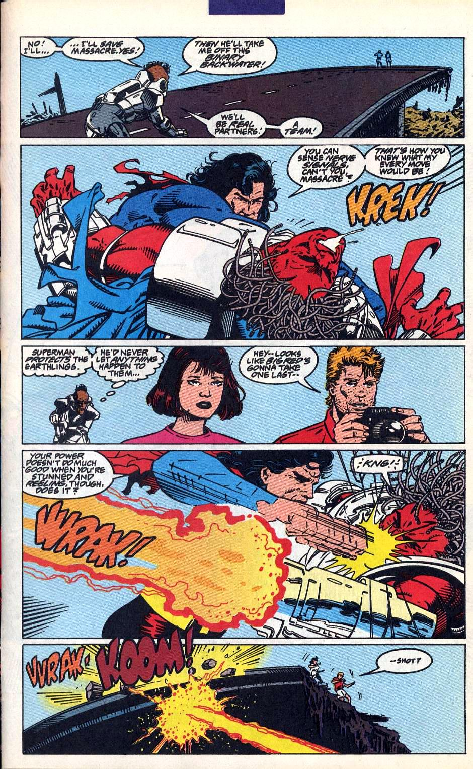 Read online Adventures of Superman (1987) comic -  Issue #515 - 19