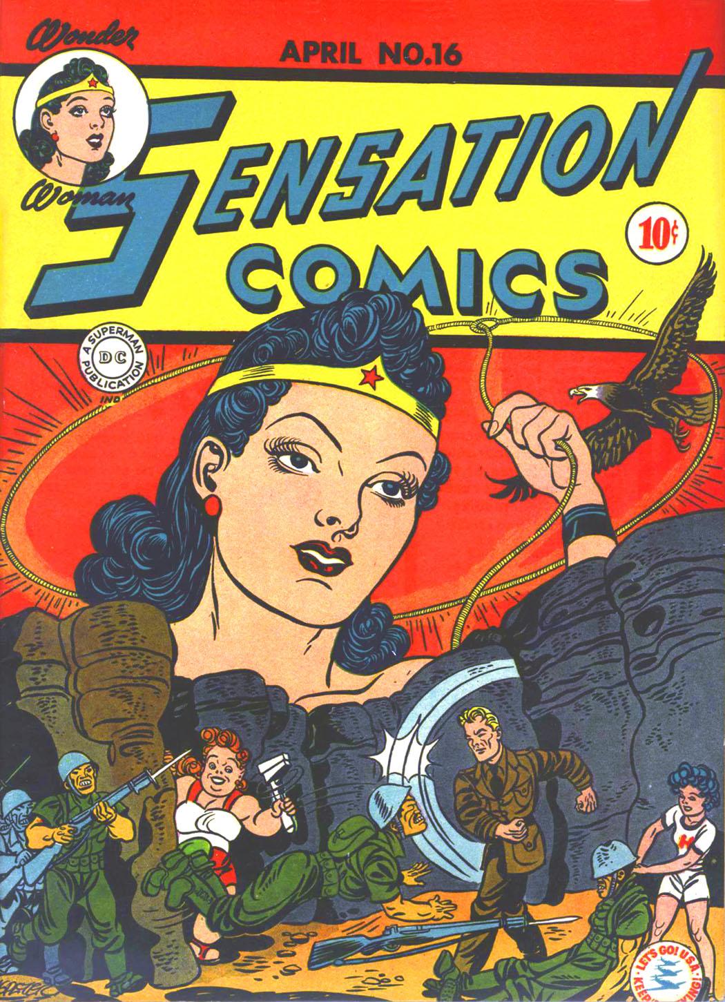 Read online Sensation (Mystery) Comics comic -  Issue #16 - 1