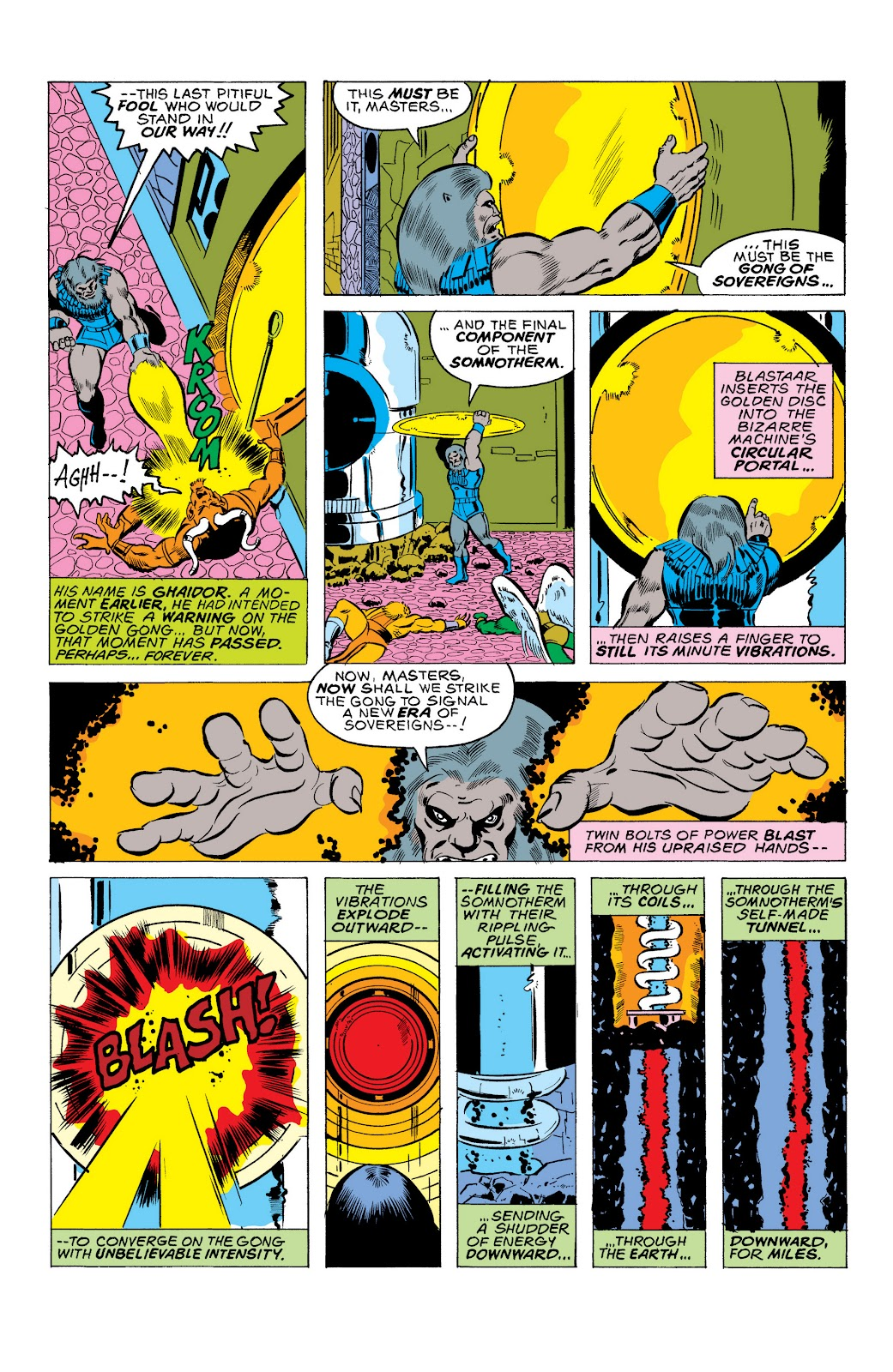 Read online Marvel Masterworks: The Inhumans comic -  Issue # TPB 2 (Part 1) - 31
