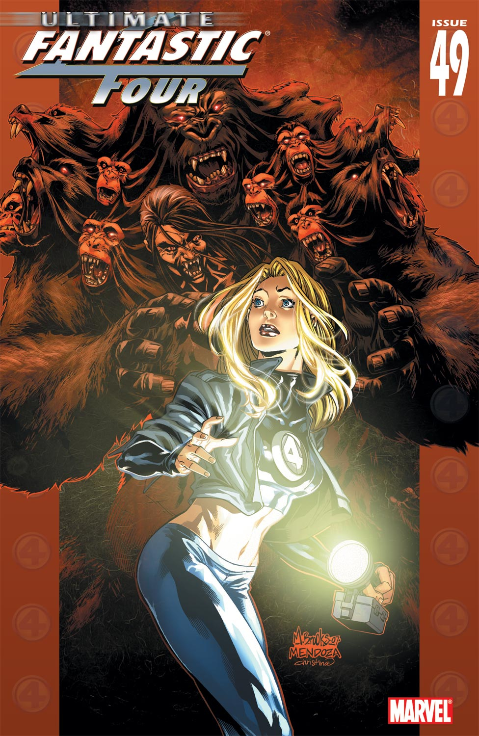 Read online Ultimate Fantastic Four (2004) comic -  Issue #49 - 1