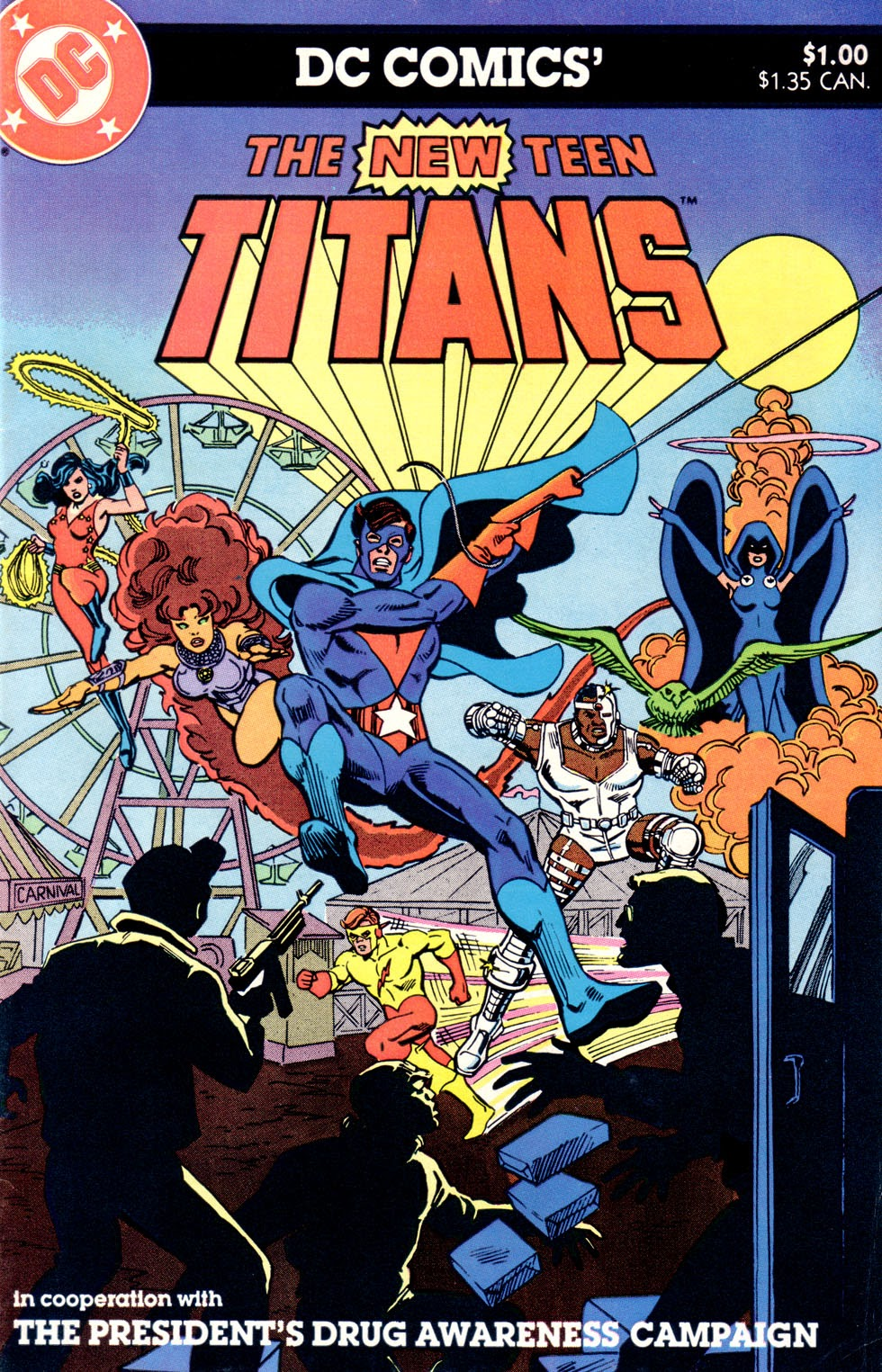 Read online The New Teen Titans (Drug Awareness Specials) comic -  Issue #1 - 1