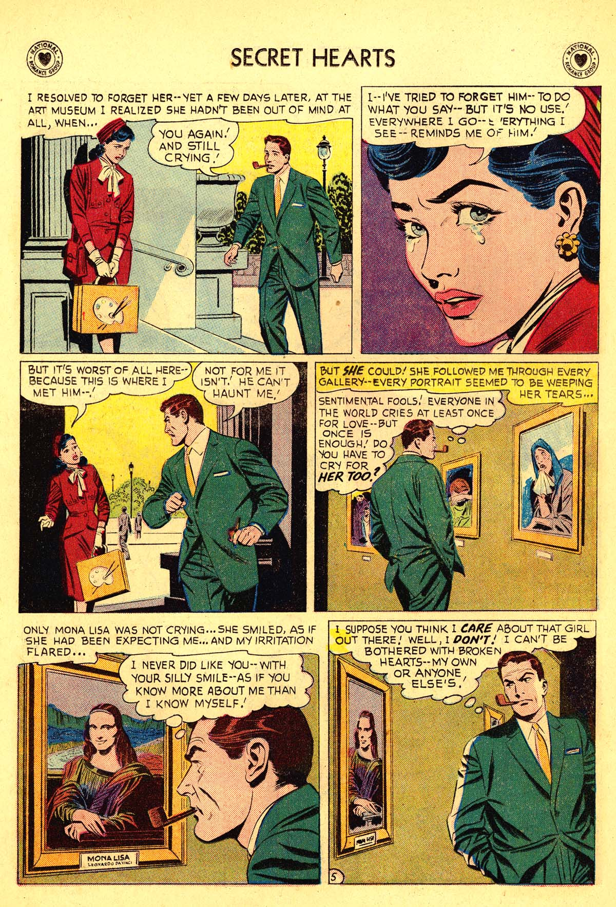 Read online Secret Hearts comic -  Issue #54 - 30