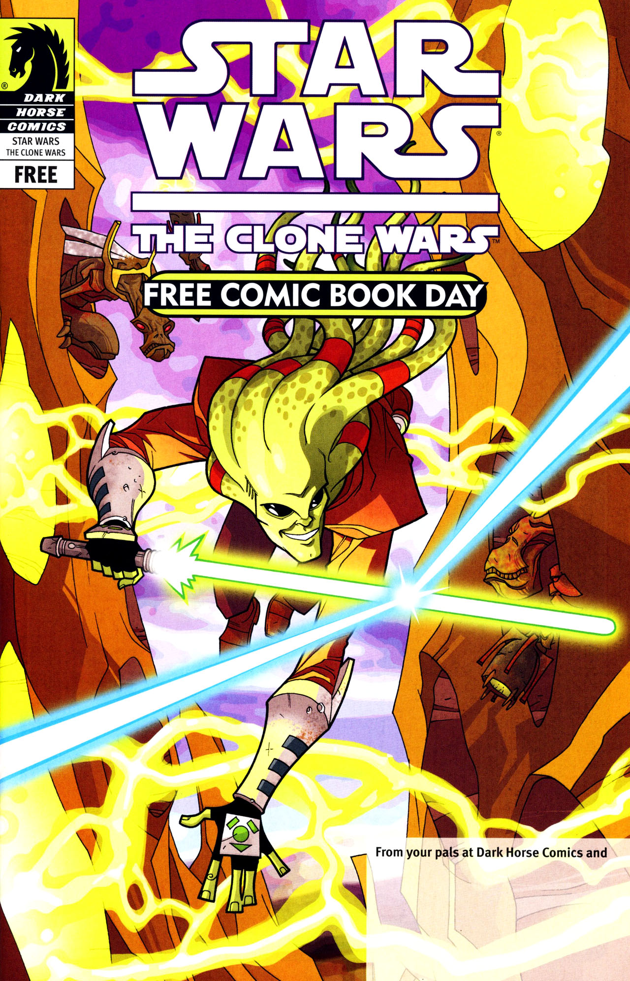 Read online Free Comic Book Day and Star Wars: The Clone Wars-Gauntlet of Death comic -  Issue # Full - 1