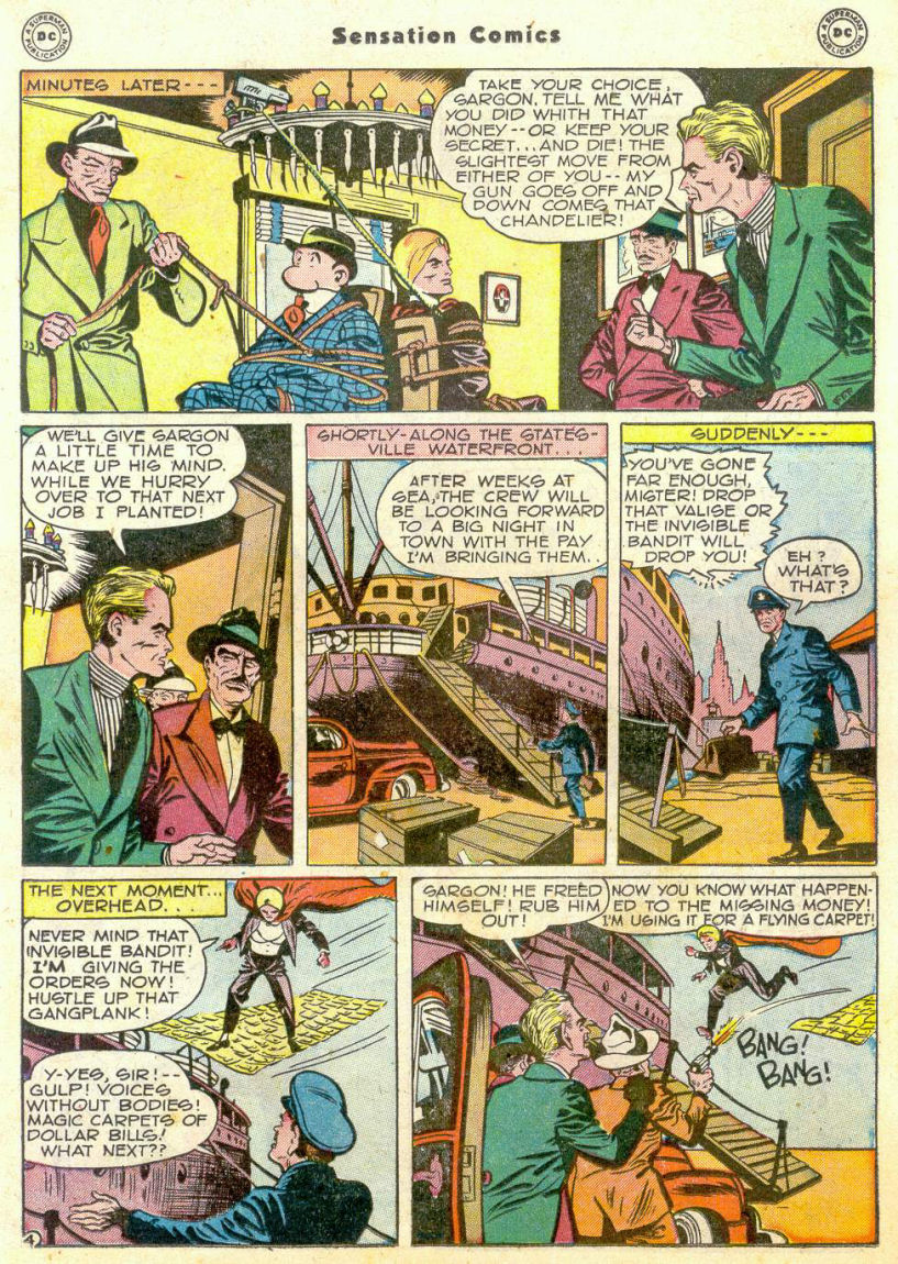 Read online Sensation (Mystery) Comics comic -  Issue #75 - 26