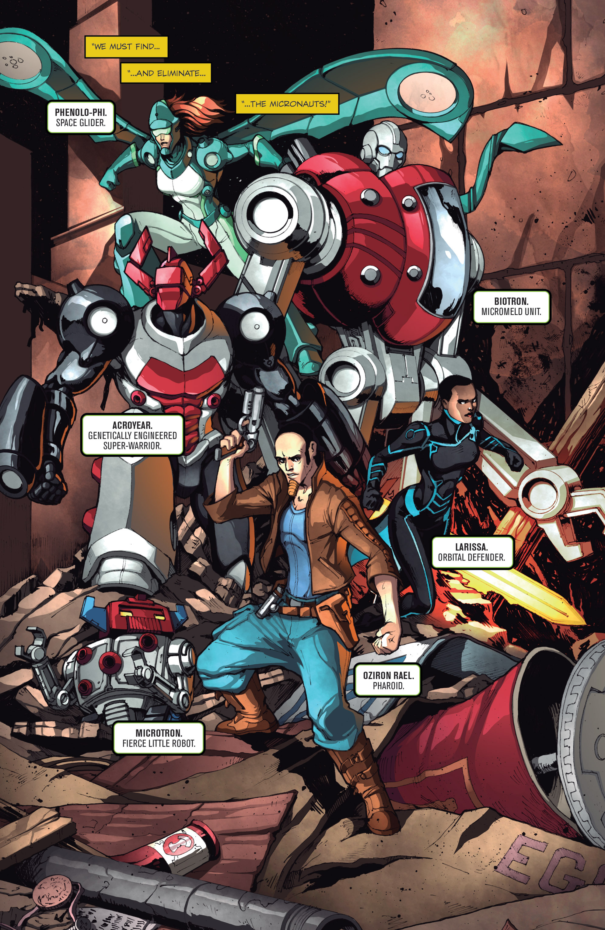 Read online Micronauts: Wrath of Karza comic -  Issue #1 - 23