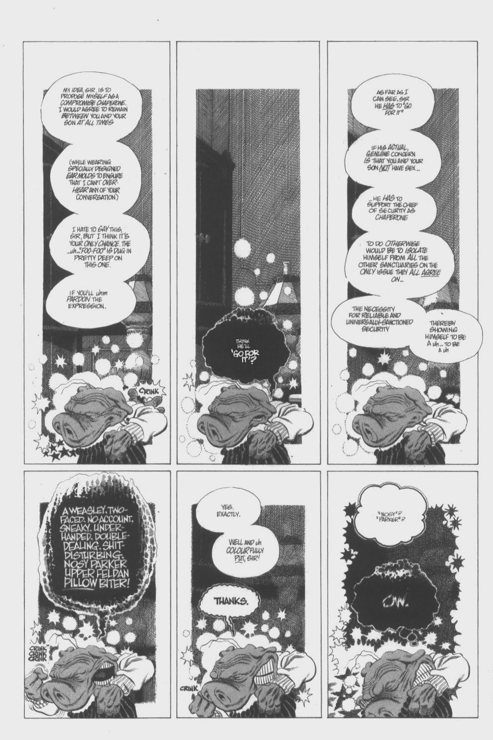 Cerebus Issue #296 #294 - English 8