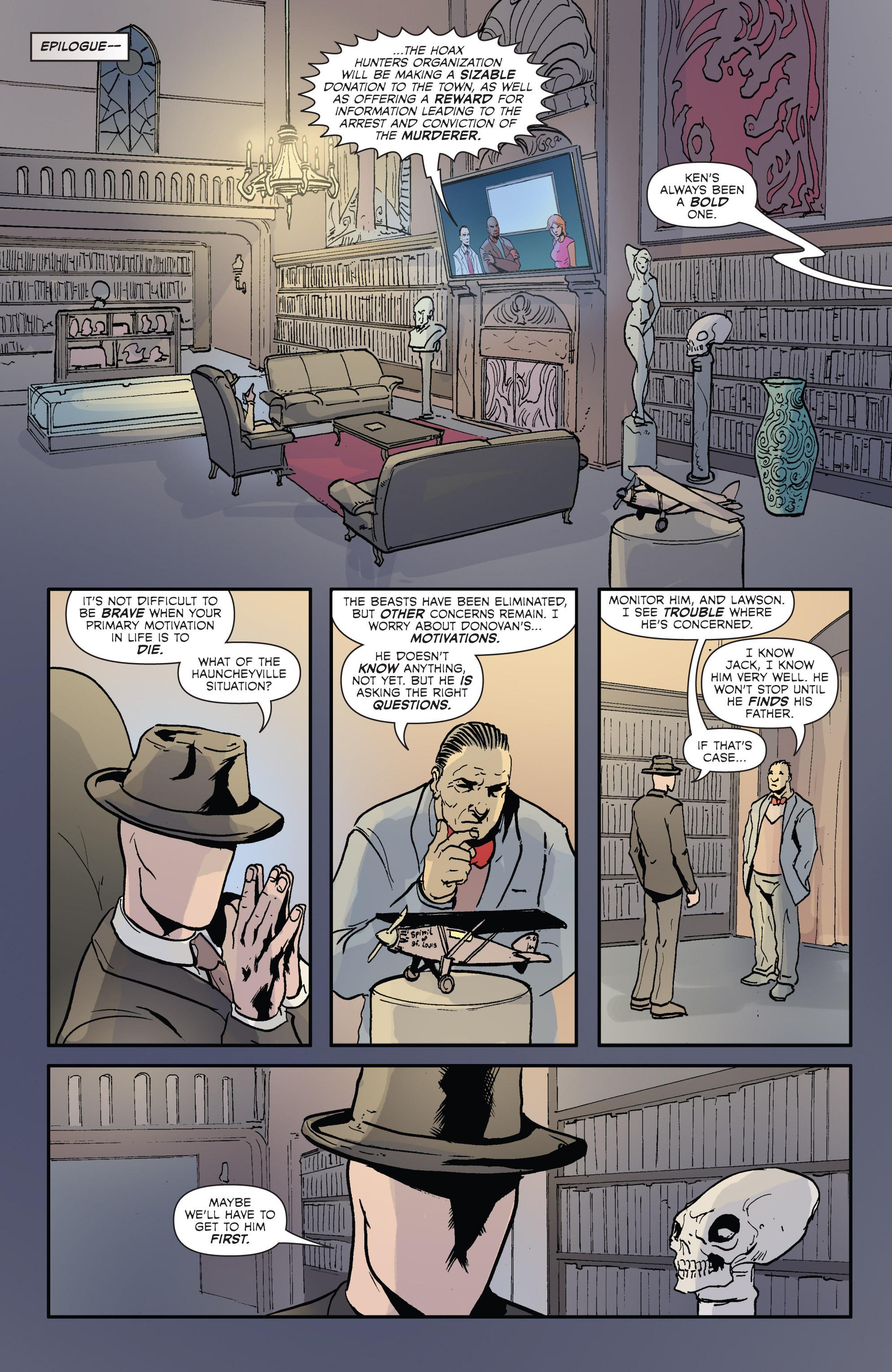 Read online Hoax Hunters (2012) comic -  Issue # TPB 2 - 72