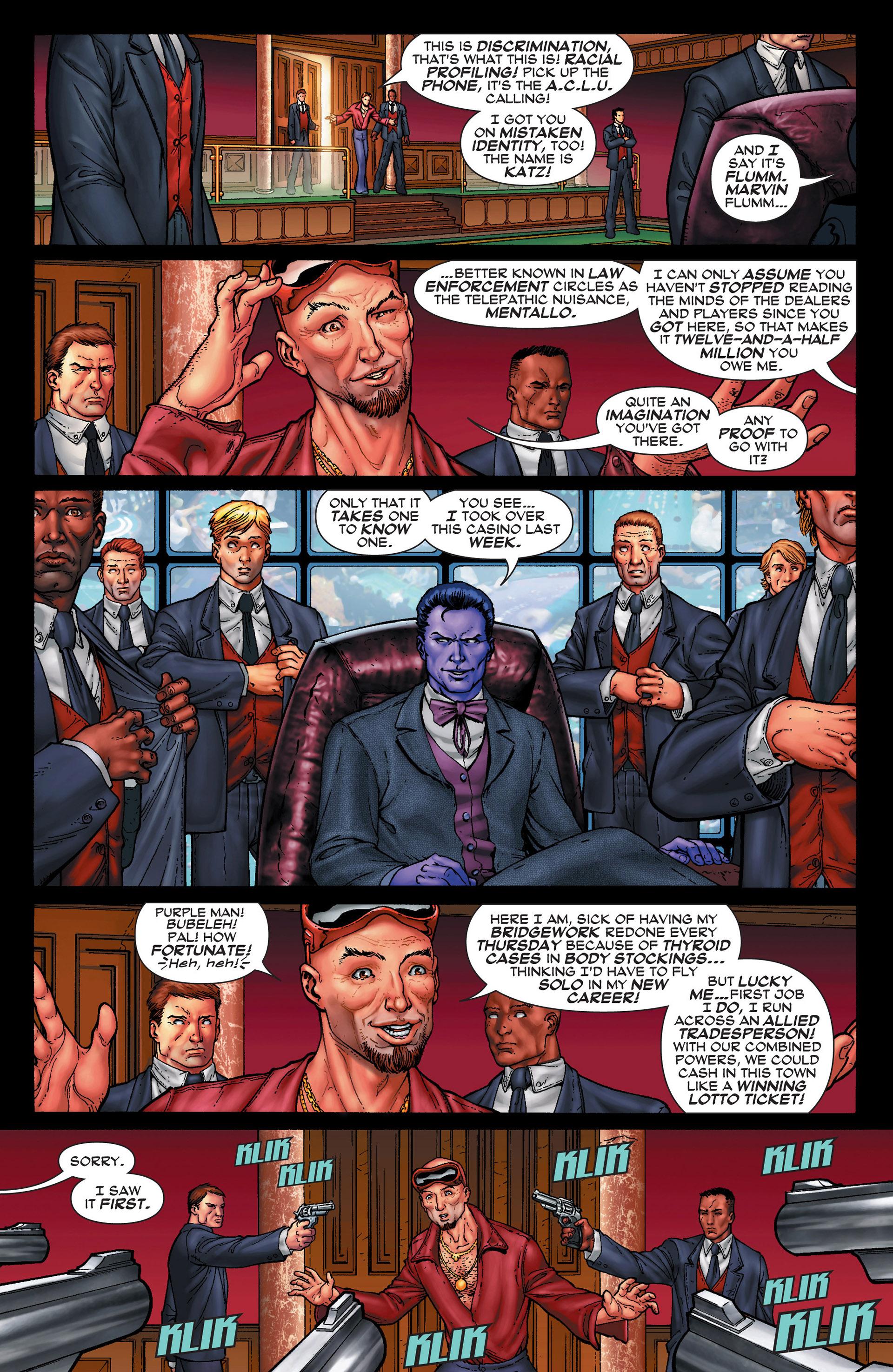 Read online Super-Villain Team-Up/MODOK's 11 comic -  Issue #1 - 12