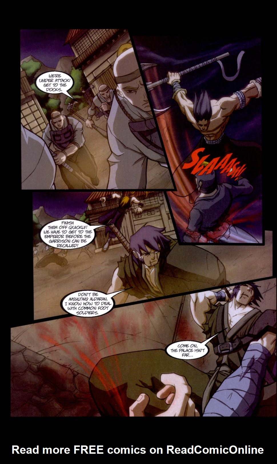 Read online Shidima comic -  Issue #6 - 17