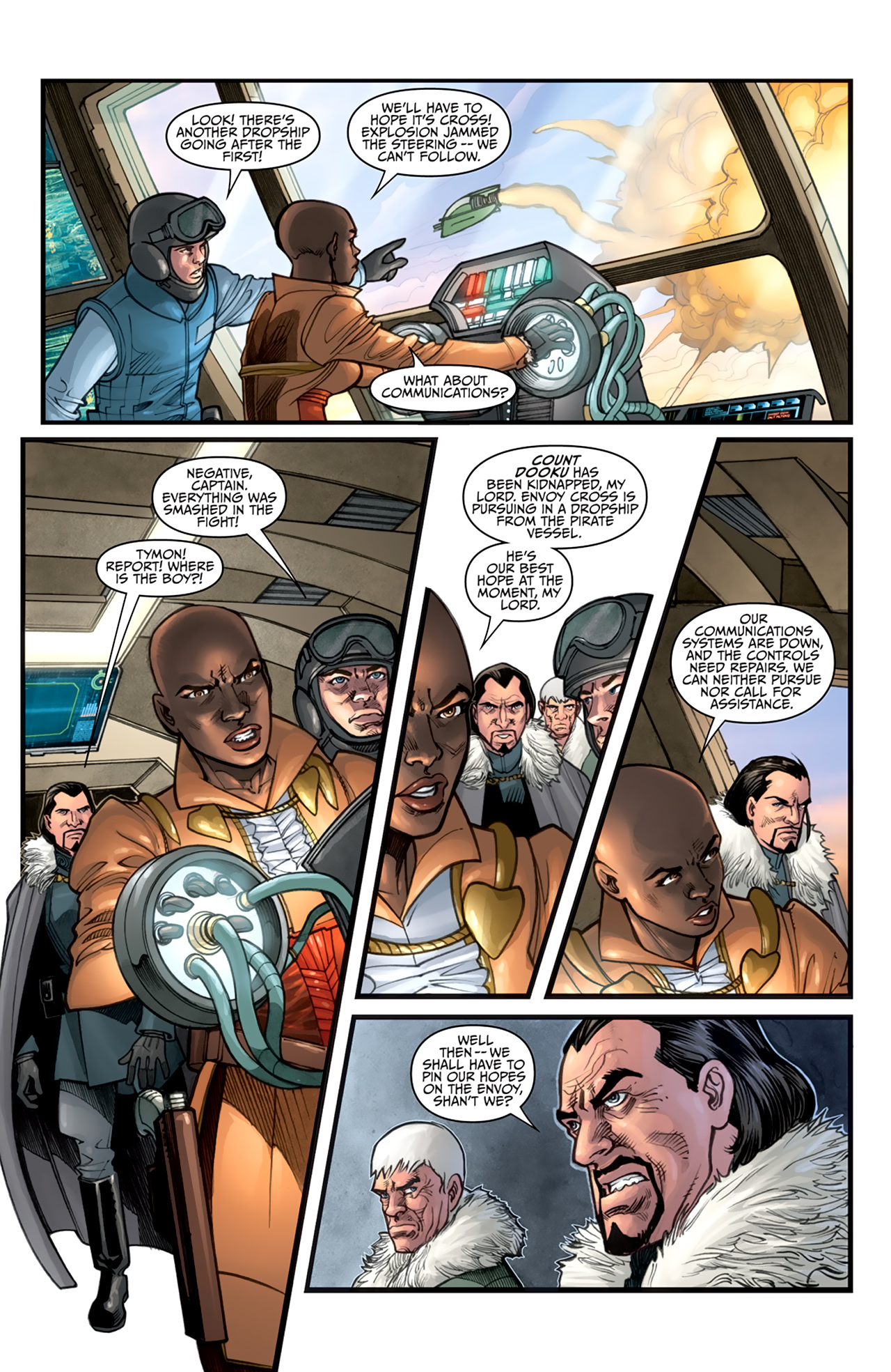 Read online Star Wars: Agent Of The Empire - Hard Targets comic -  Issue #3 - 5
