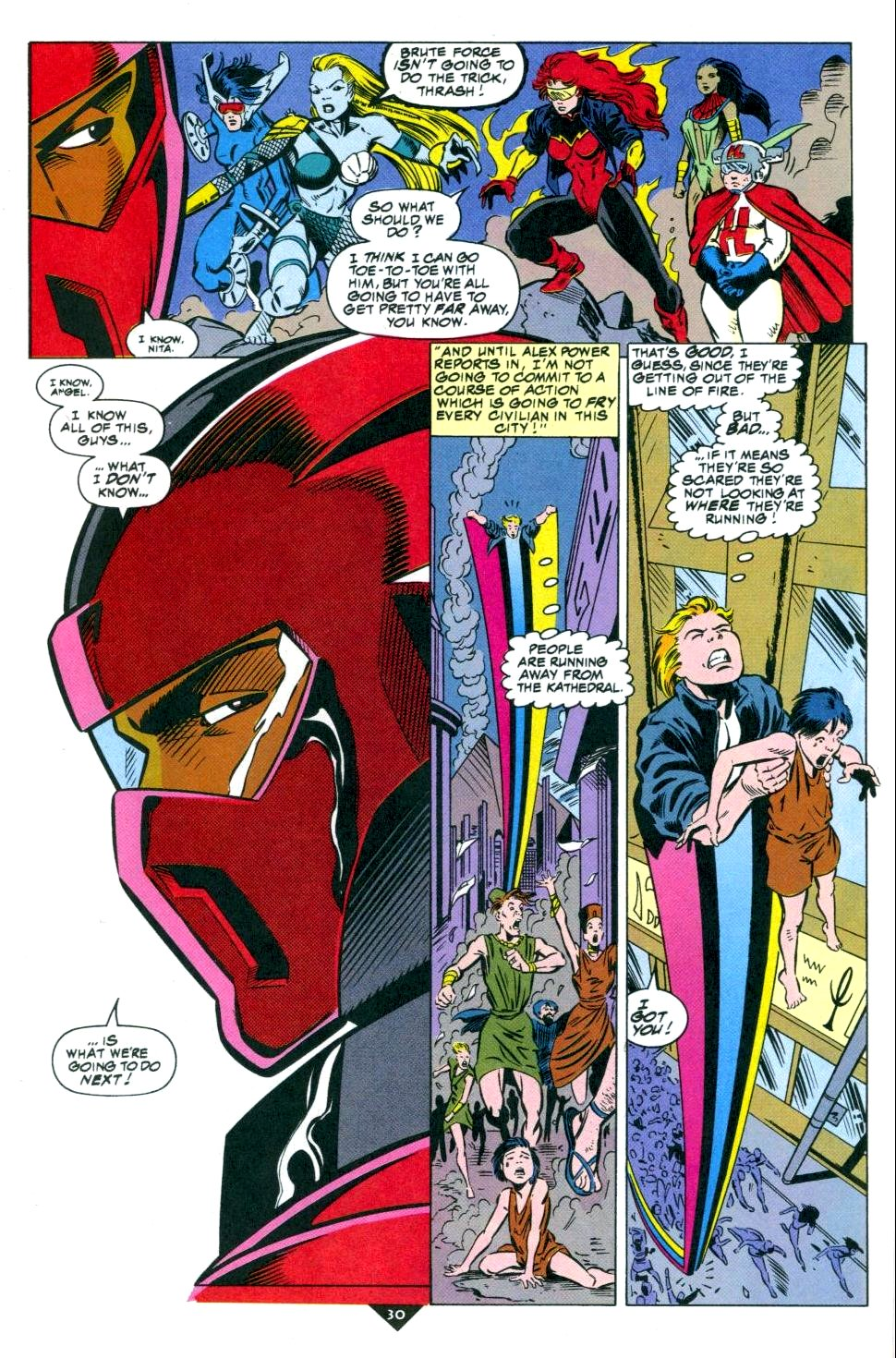 The New Warriors Issue #50 #54 - English 23