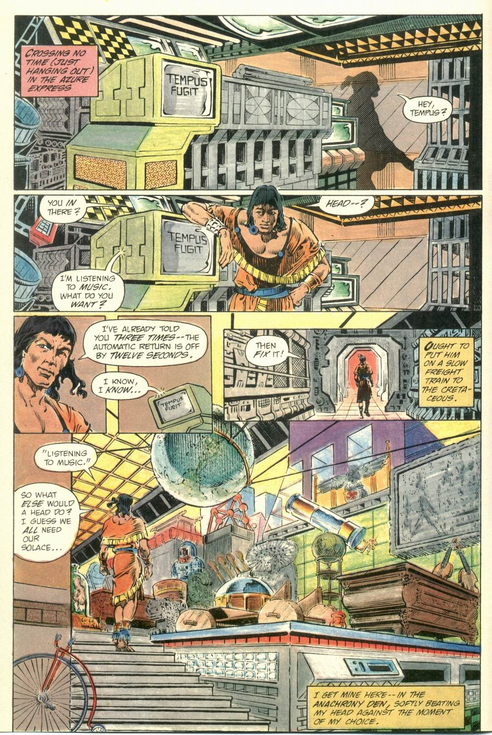 Read online Aztec Ace comic -  Issue #1 - 8