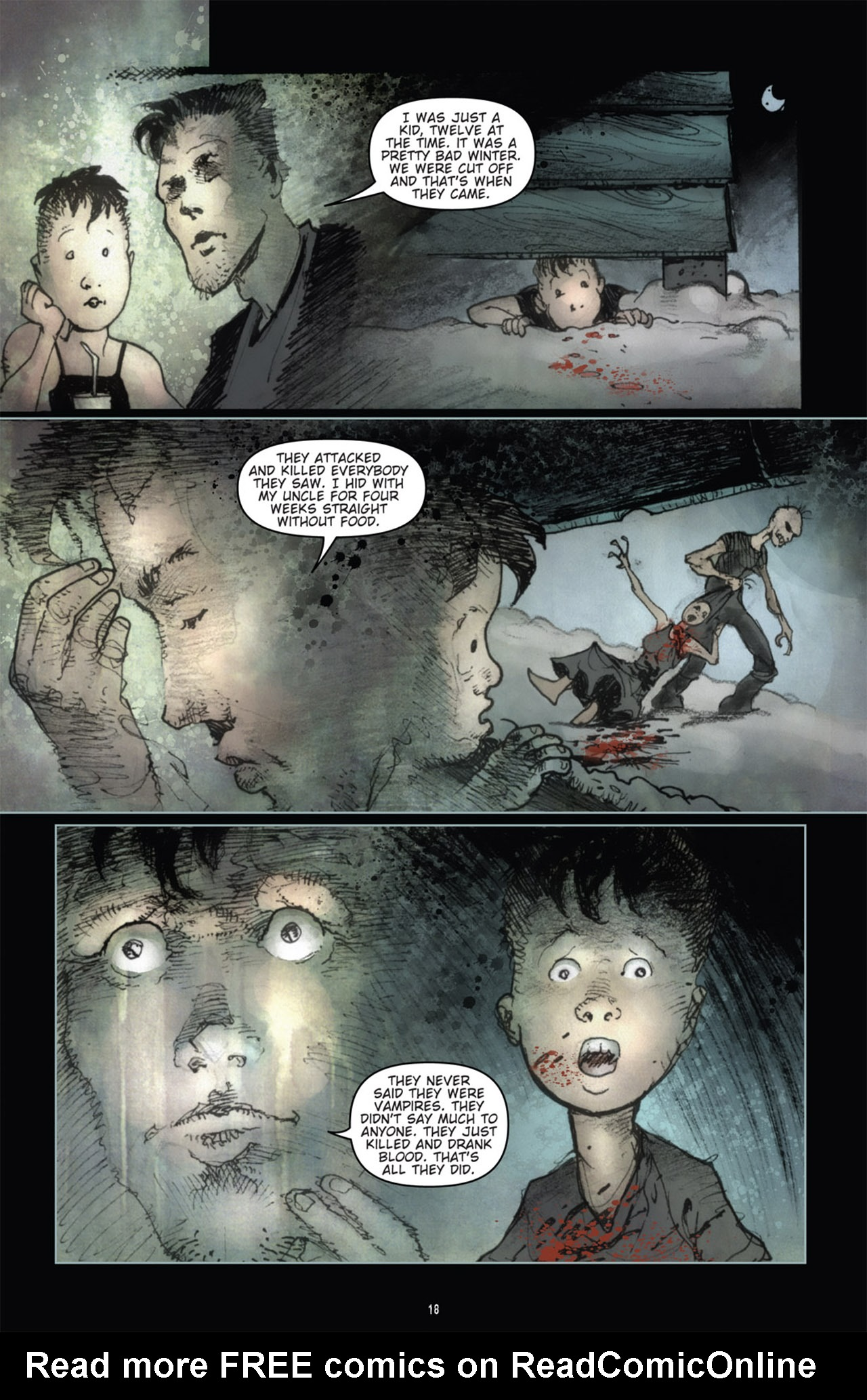 Read online 30 Days of Night (2011) comic -  Issue #1 - 22