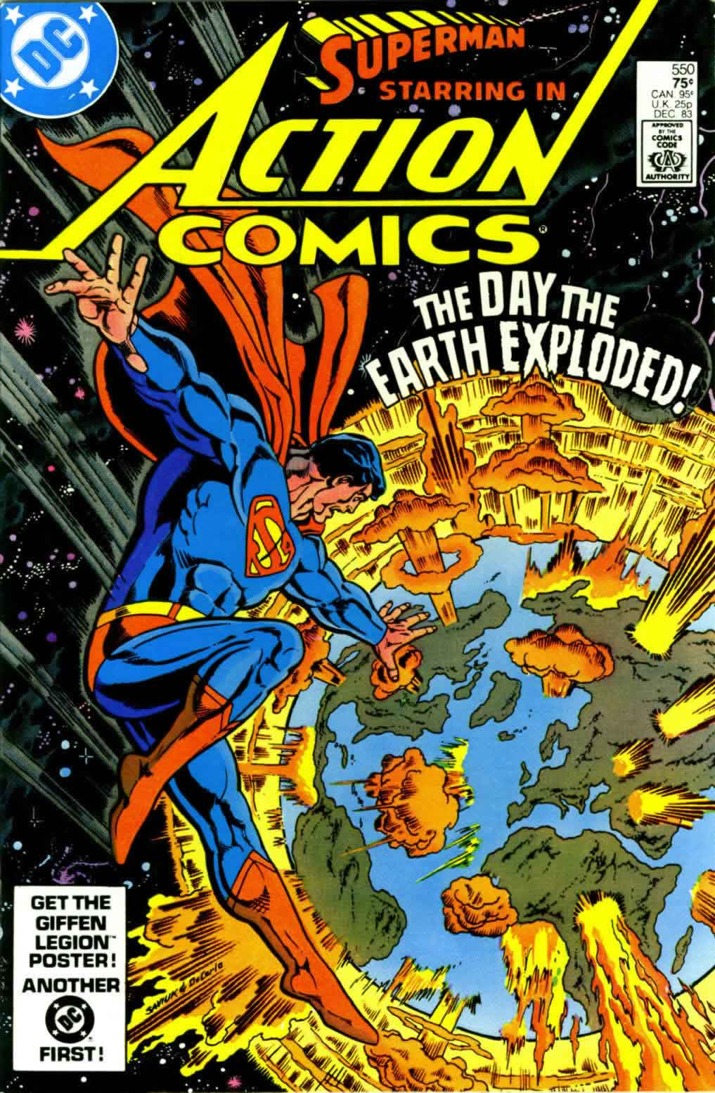 Read online Action Comics (1938) comic -  Issue #550 - 1