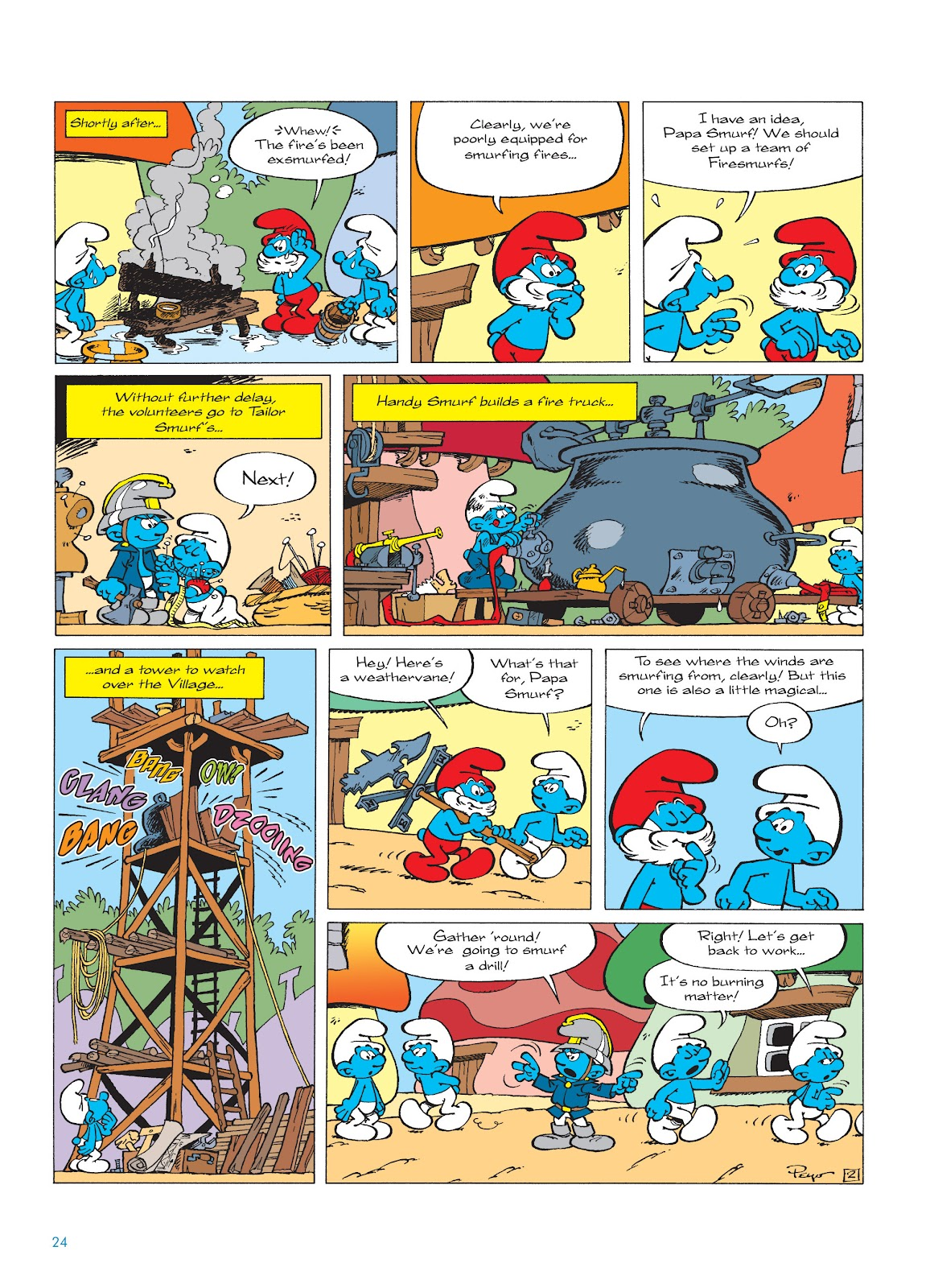Read online The Smurfs comic -  Issue #16 - 25