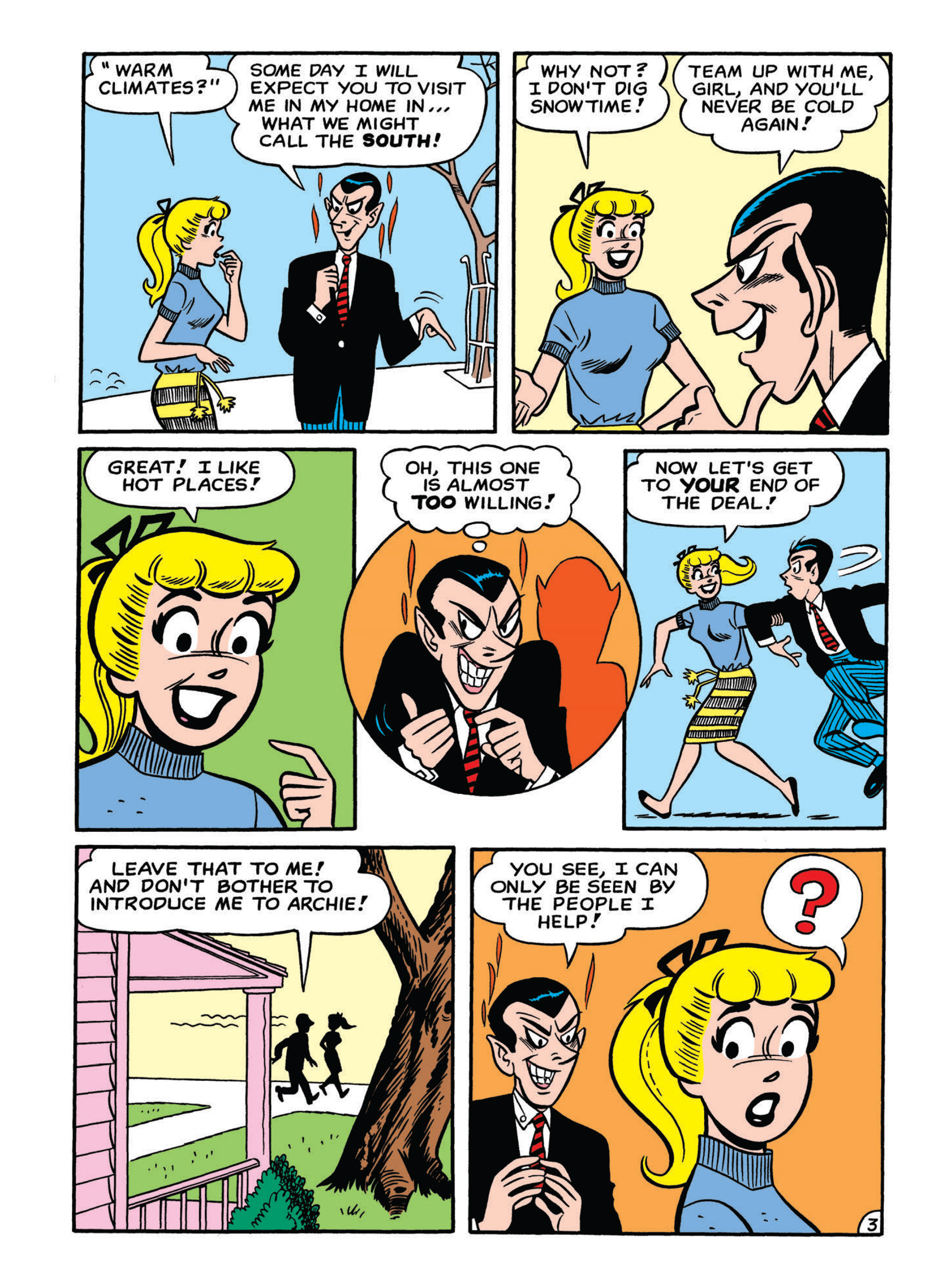 Read online Archie 75th Anniversary Digest comic -  Issue #5 - 116
