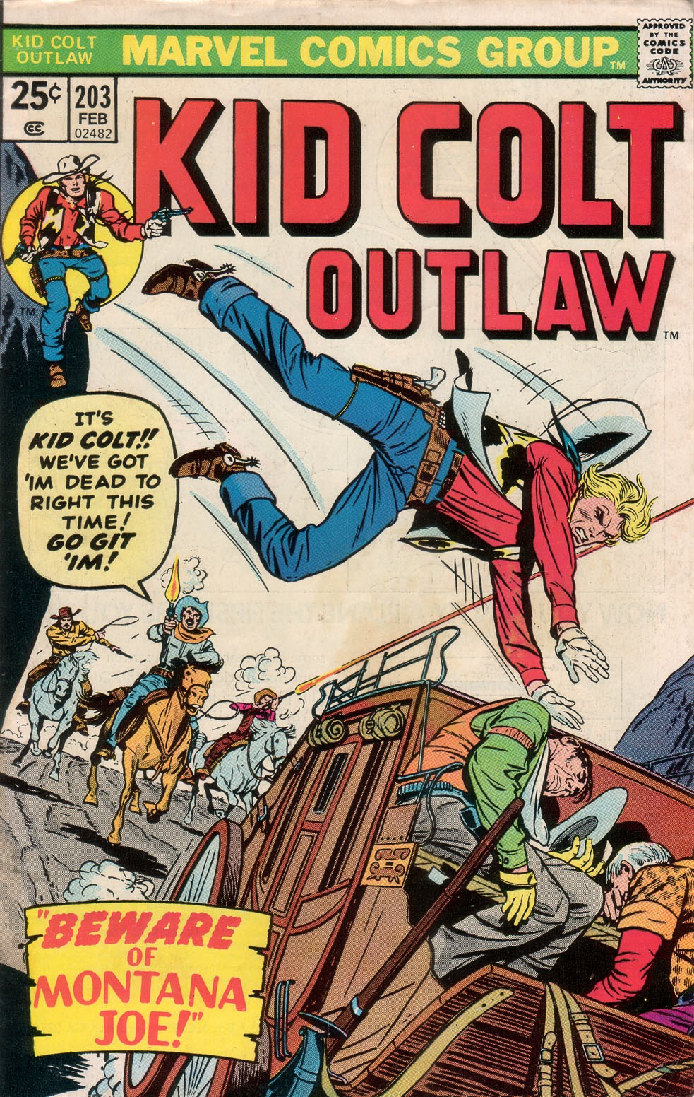 Kid Colt Outlaw issue 203 - Page 1