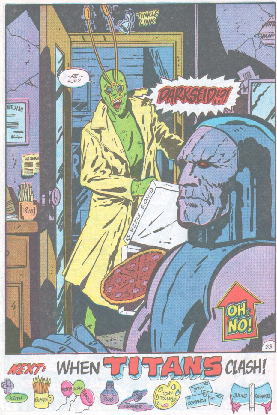 Read online Ambush Bug comic -  Issue #1 - 25
