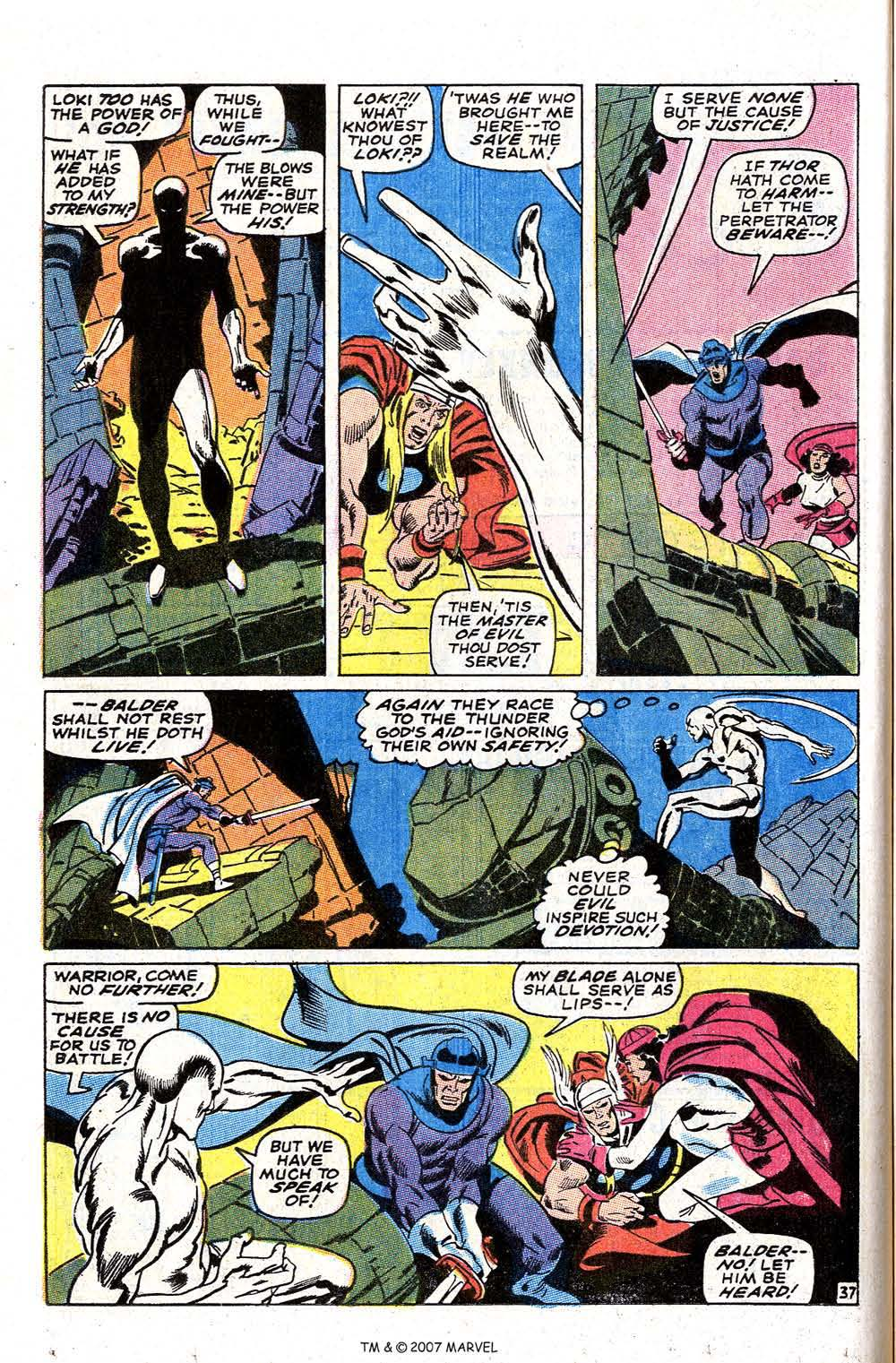 Read online Silver Surfer (1968) comic -  Issue #4 - 46