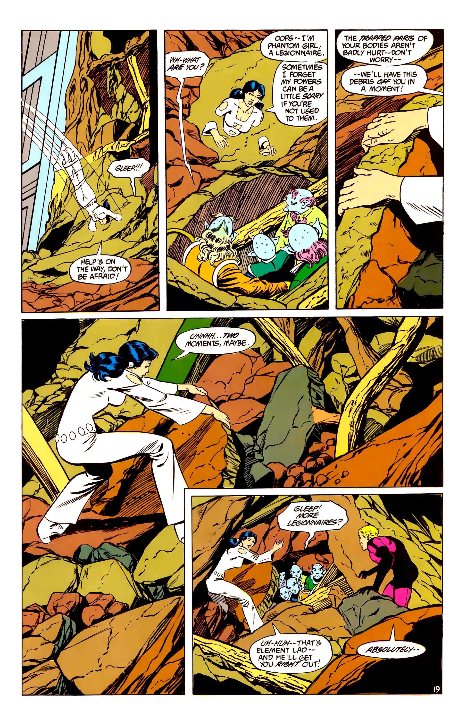 Legion of Super-Heroes (1984) _Annual_2 Page 20