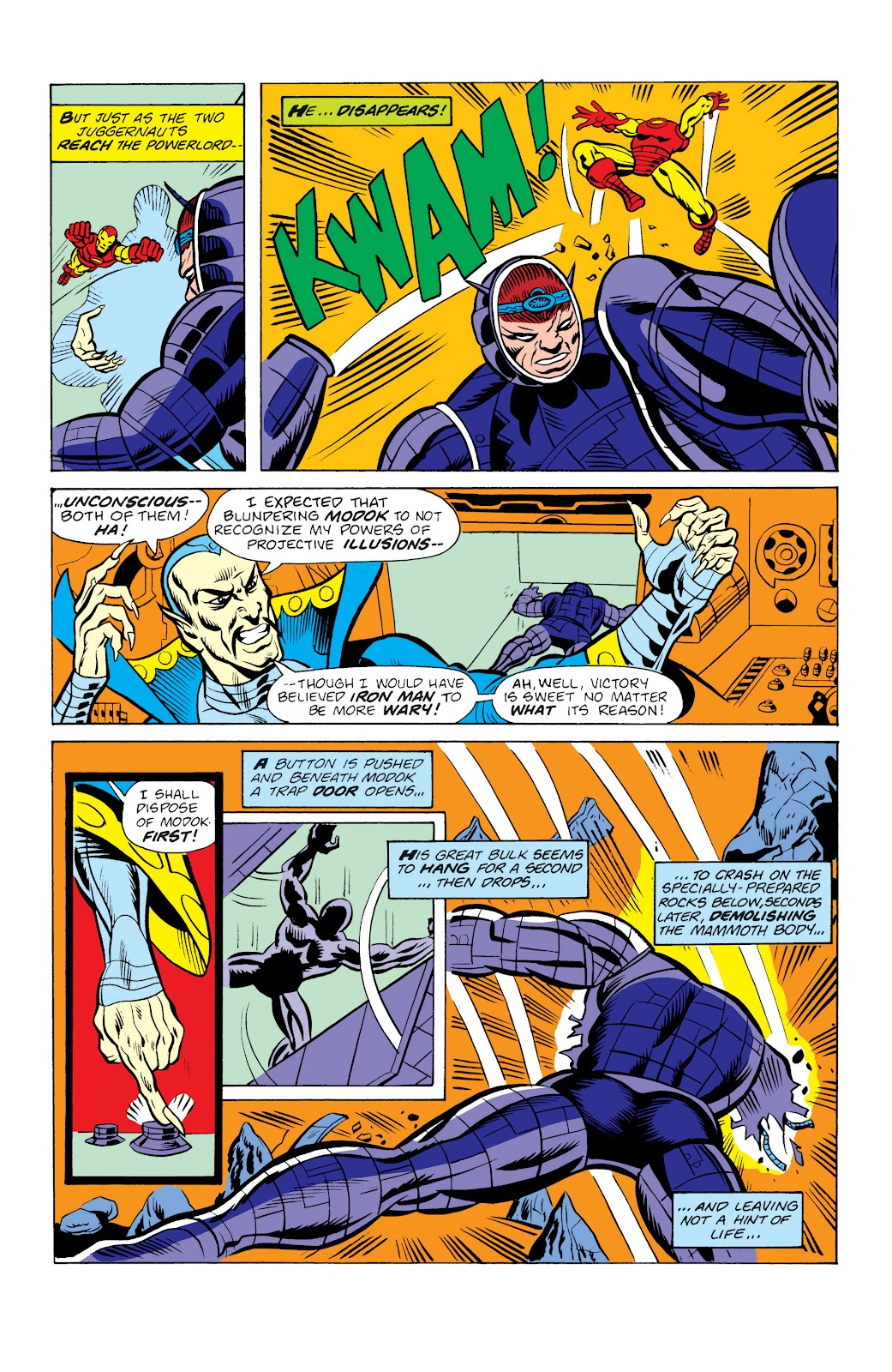 Read online Marvel Masterworks: The Invincible Iron Man comic -  Issue # TPB 10 (Part 2) - 50