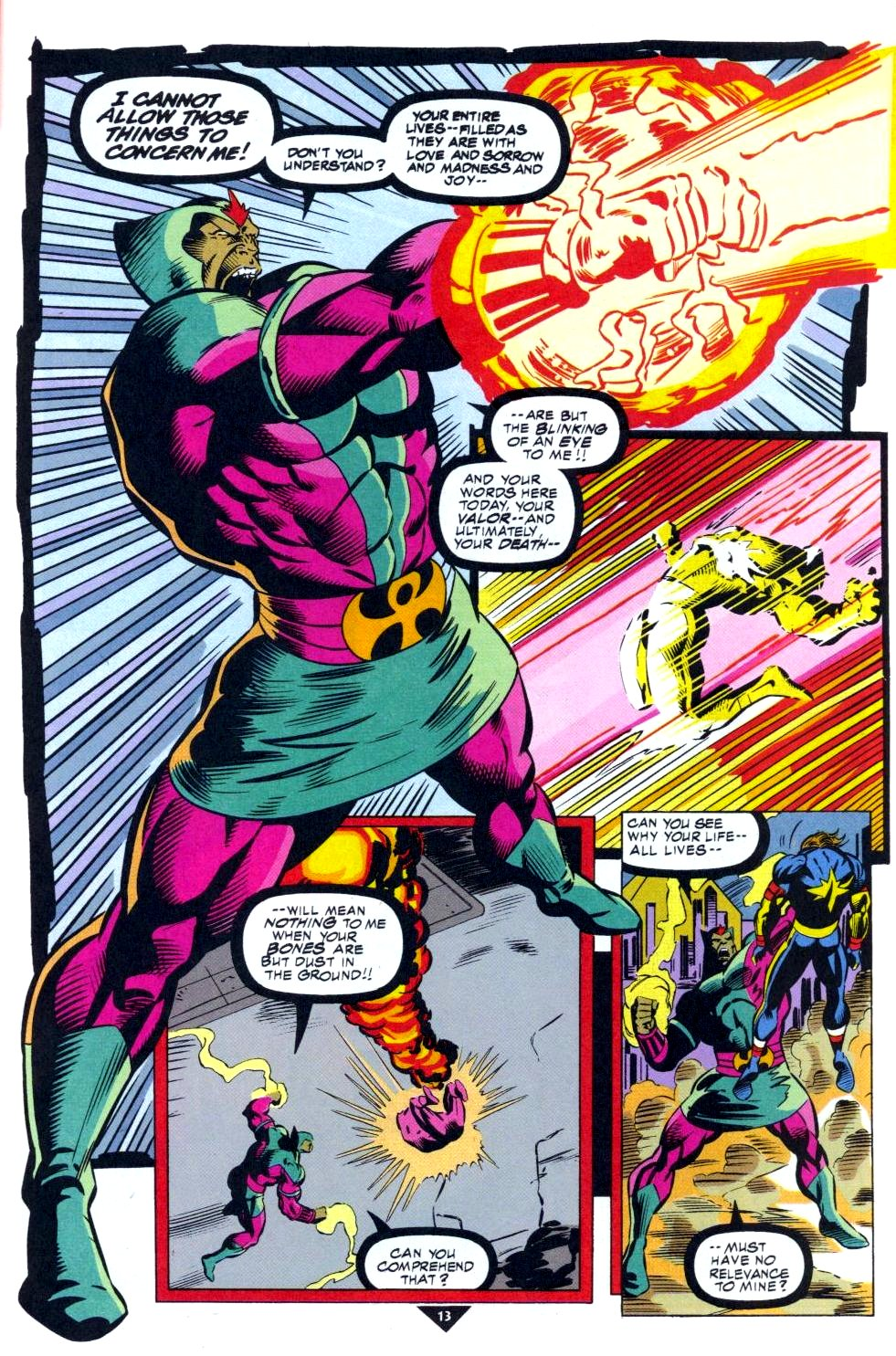 The New Warriors Issue #50 #54 - English 10