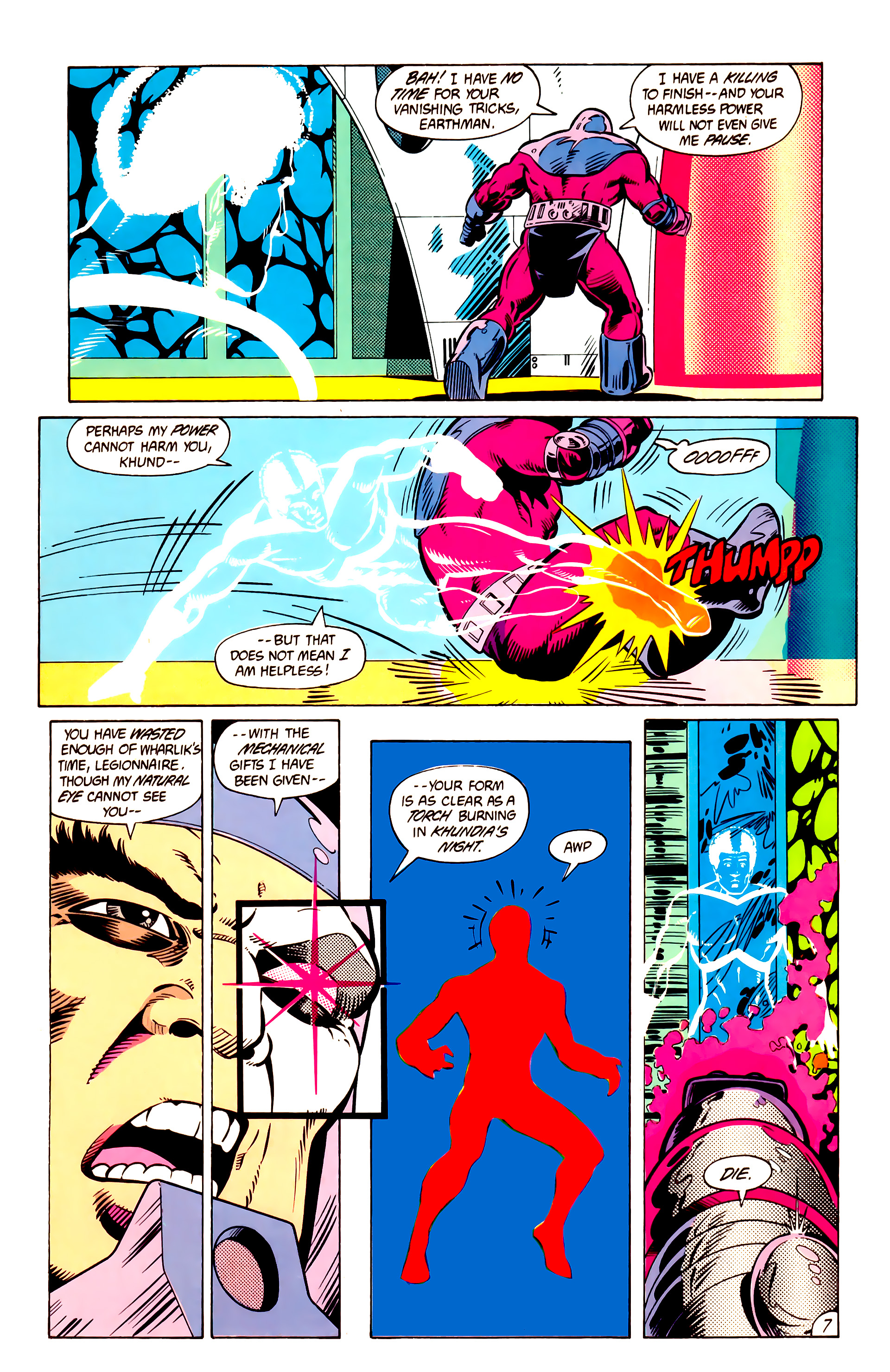 Legion of Super-Heroes (1984) 10 Page 8