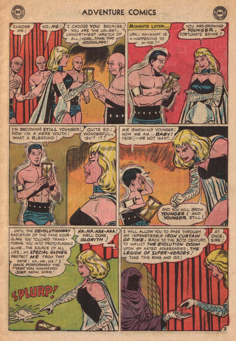 Read online Adventure Comics (1938) comic -  Issue #338 - 5