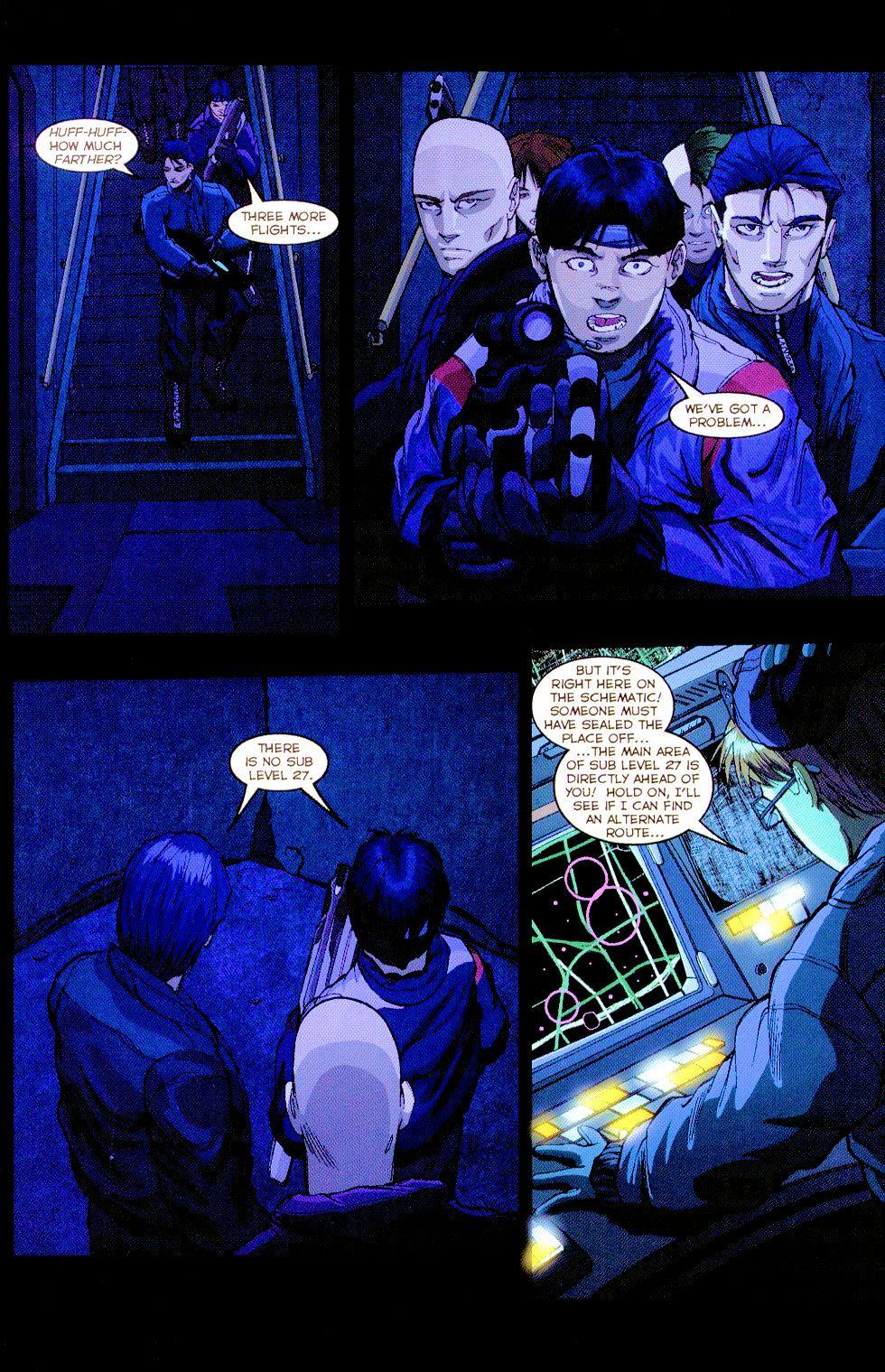 Darkminds (1998) Issue #8 #9 - English 5