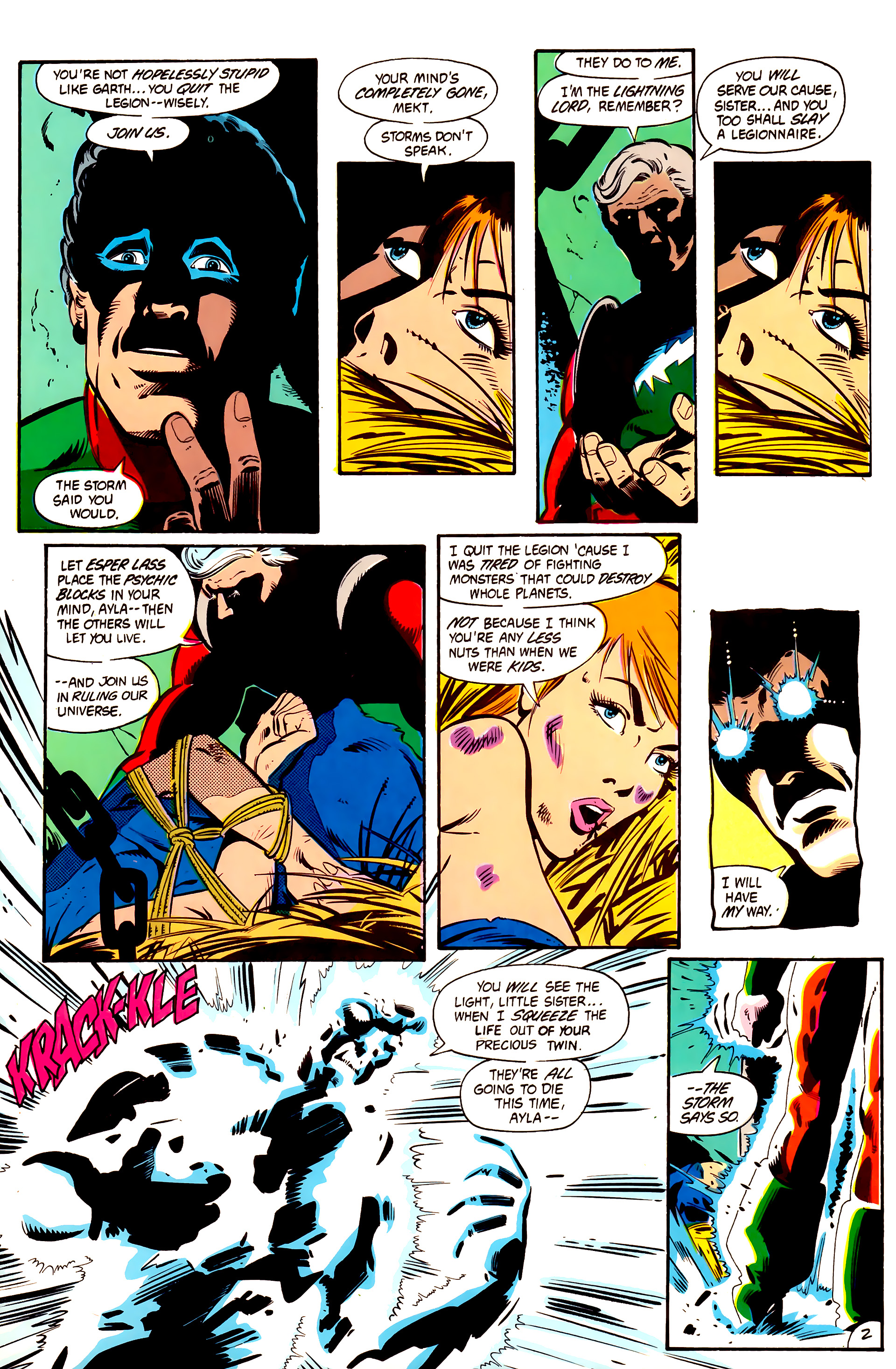 Legion of Super-Heroes (1984) 2 Page 3