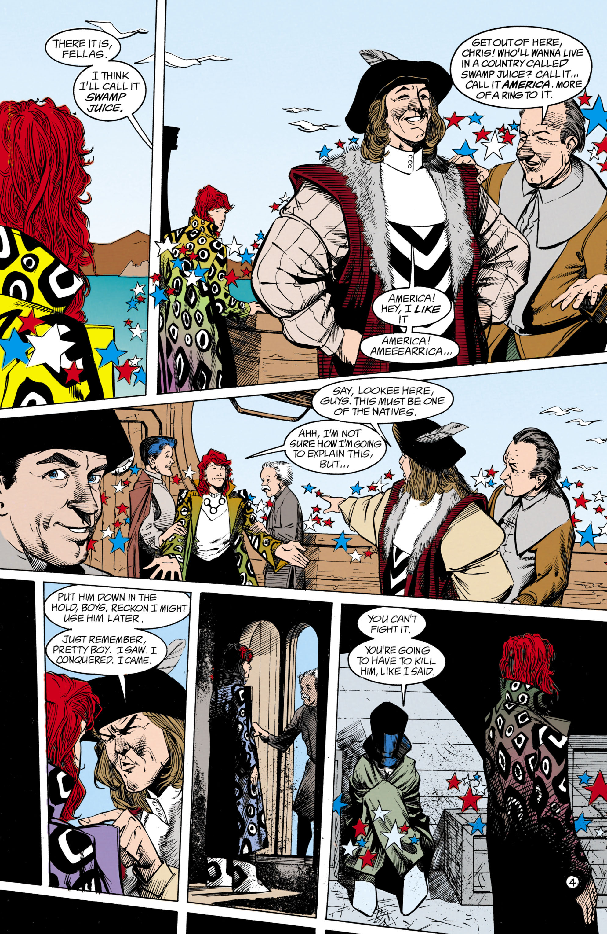 Read online Shade, the Changing Man comic -  Issue #18 - 5