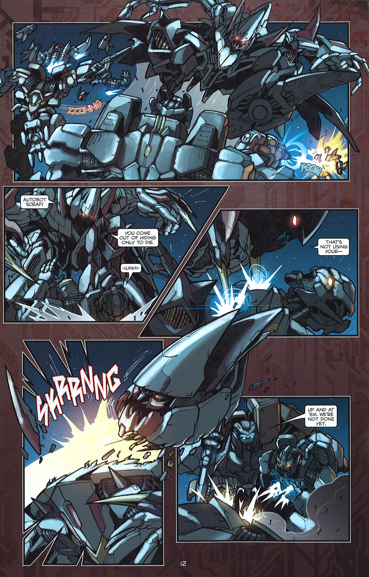 Read online Transformers: The Reign of Starscream comic -  Issue #5 - 15
