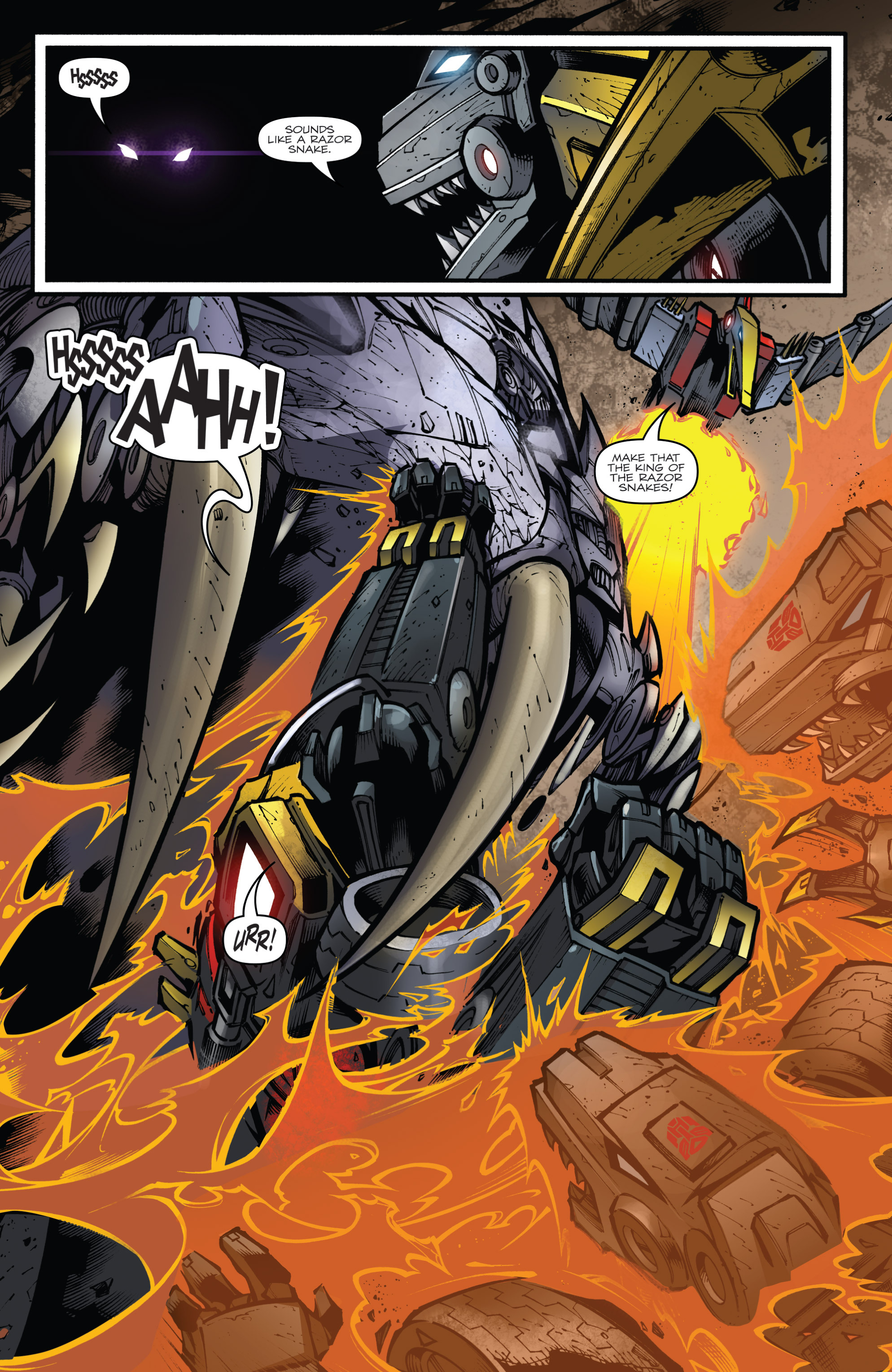 Read online Transformers Prime: Beast Hunters comic -  Issue #6 - 17
